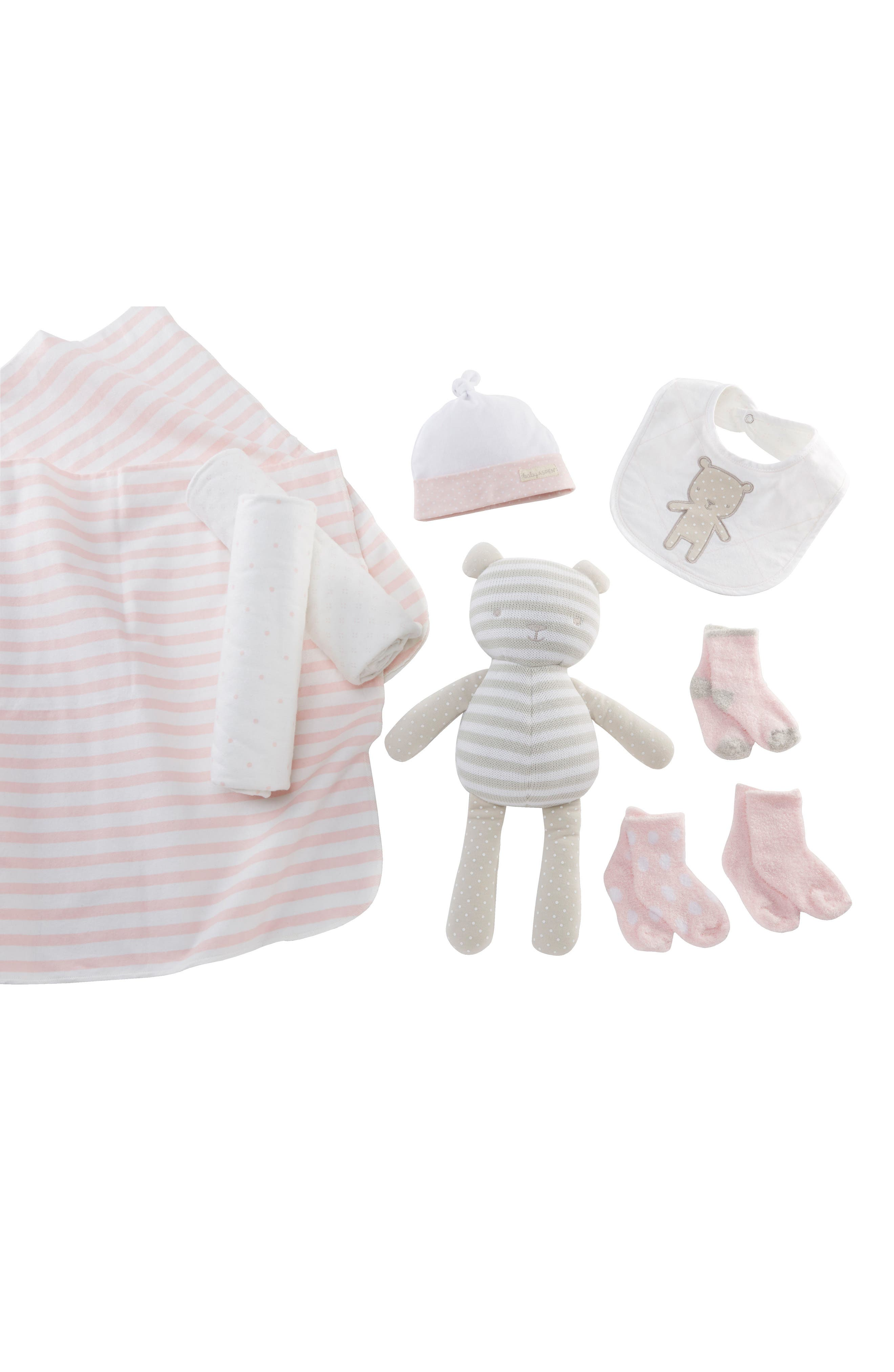 Beary Special 10-Piece Gift Set,                             Main thumbnail 1, color,                             Pink