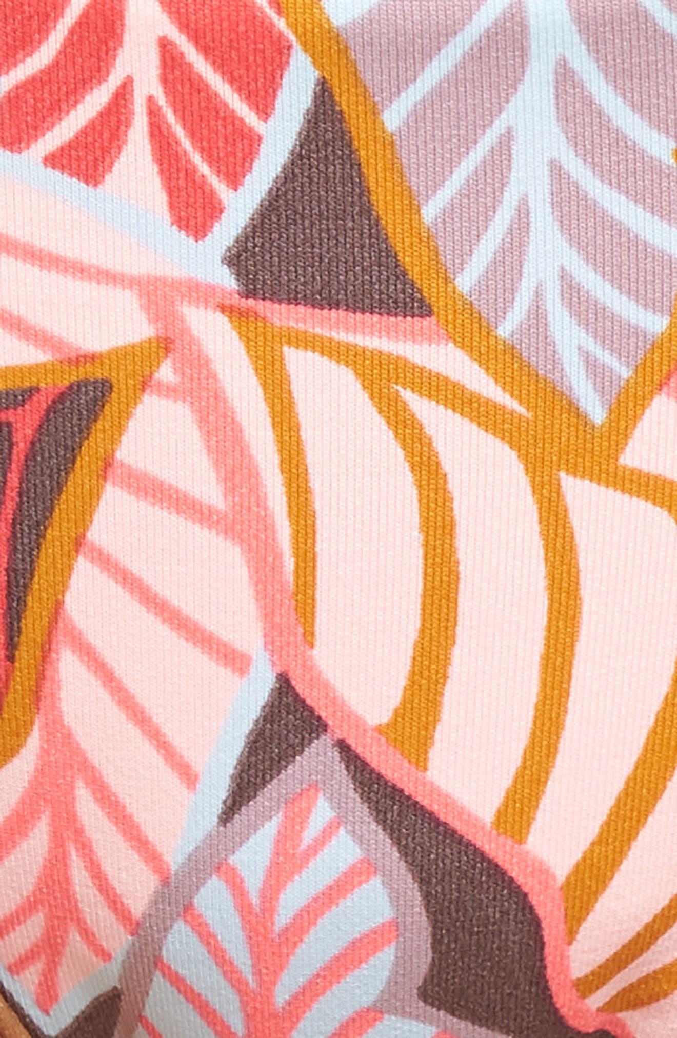 Andalusia Frills Bikini Bottoms,                             Alternate thumbnail 6, color,                             Red Multi