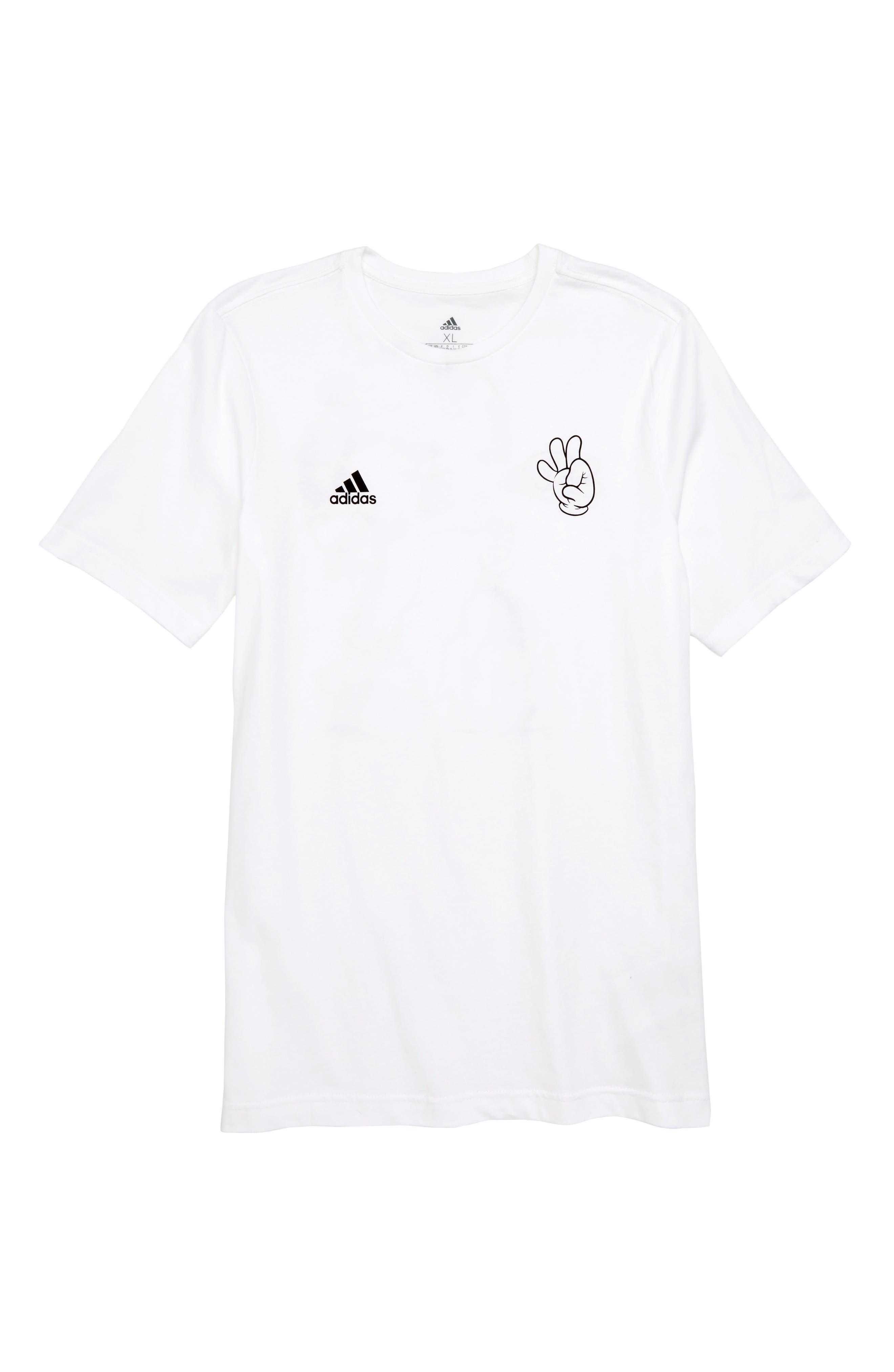 2018 FIFA World Cup Mascot T-Shirt,                             Main thumbnail 1, color,                             White