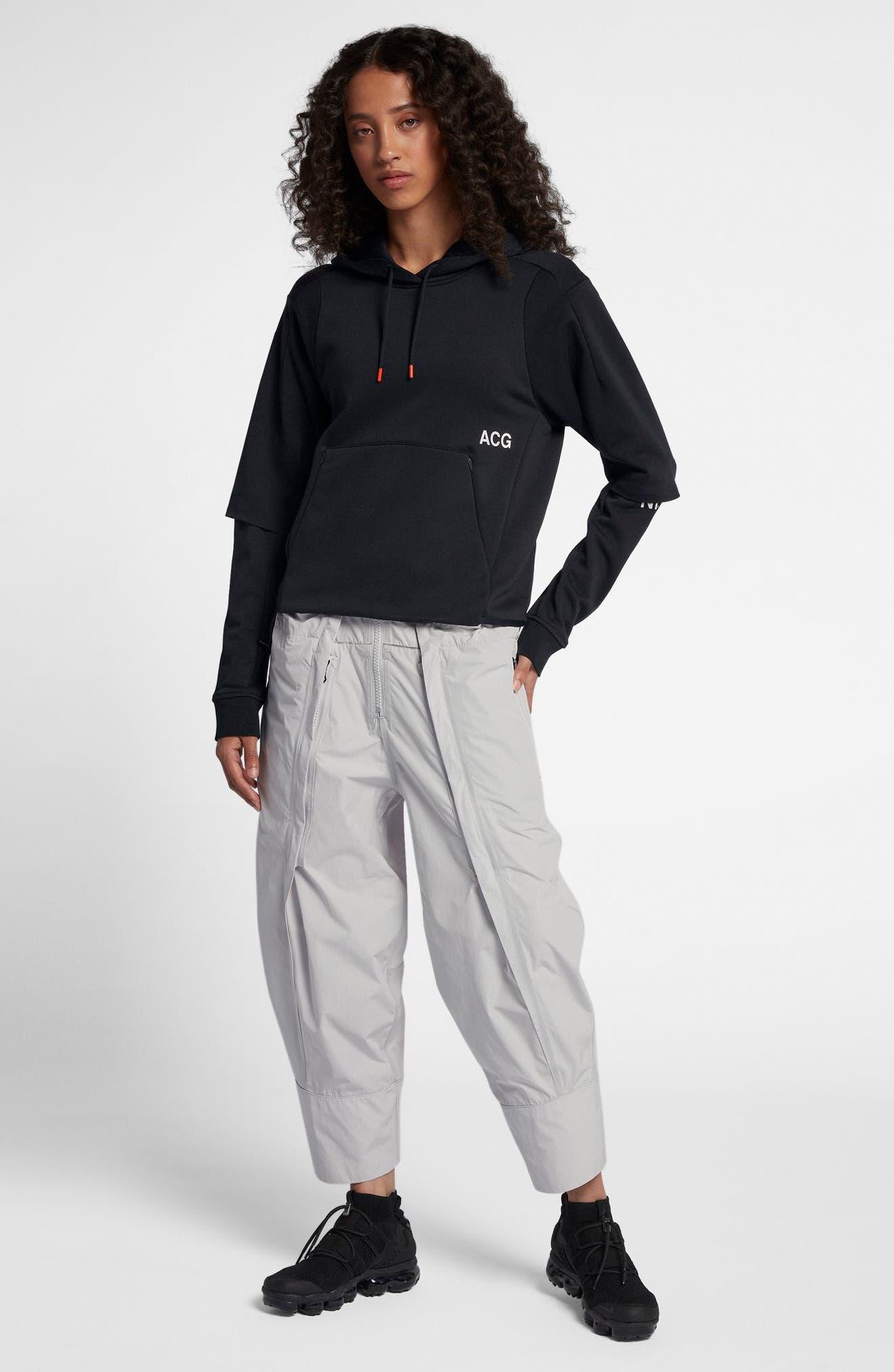 NikeLab ACG Women's Cargo Pants,                             Alternate thumbnail 9, color,                             Vast Grey