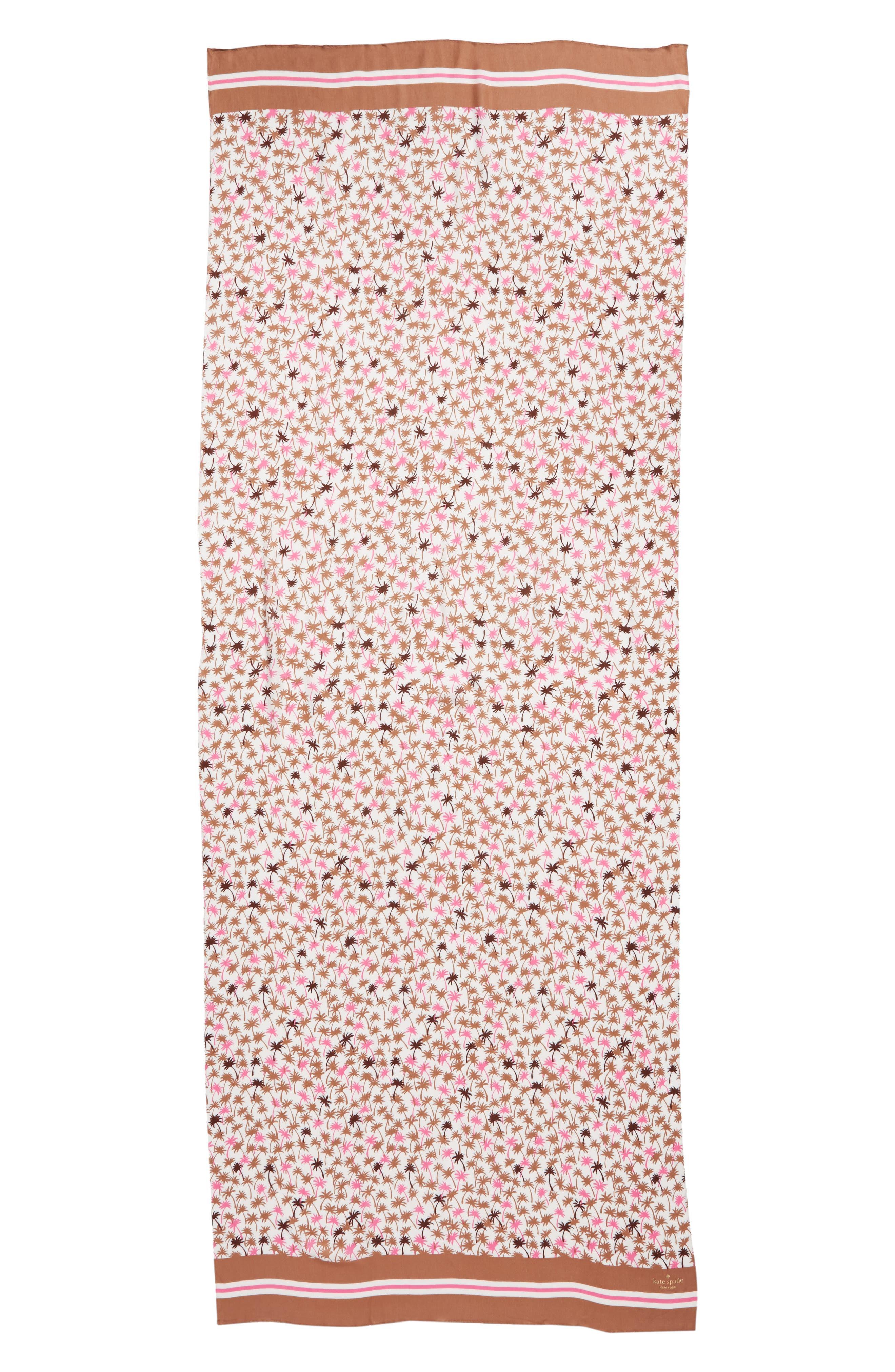 mini palm scarf,                             Alternate thumbnail 3, color,                             Pink Lemonade