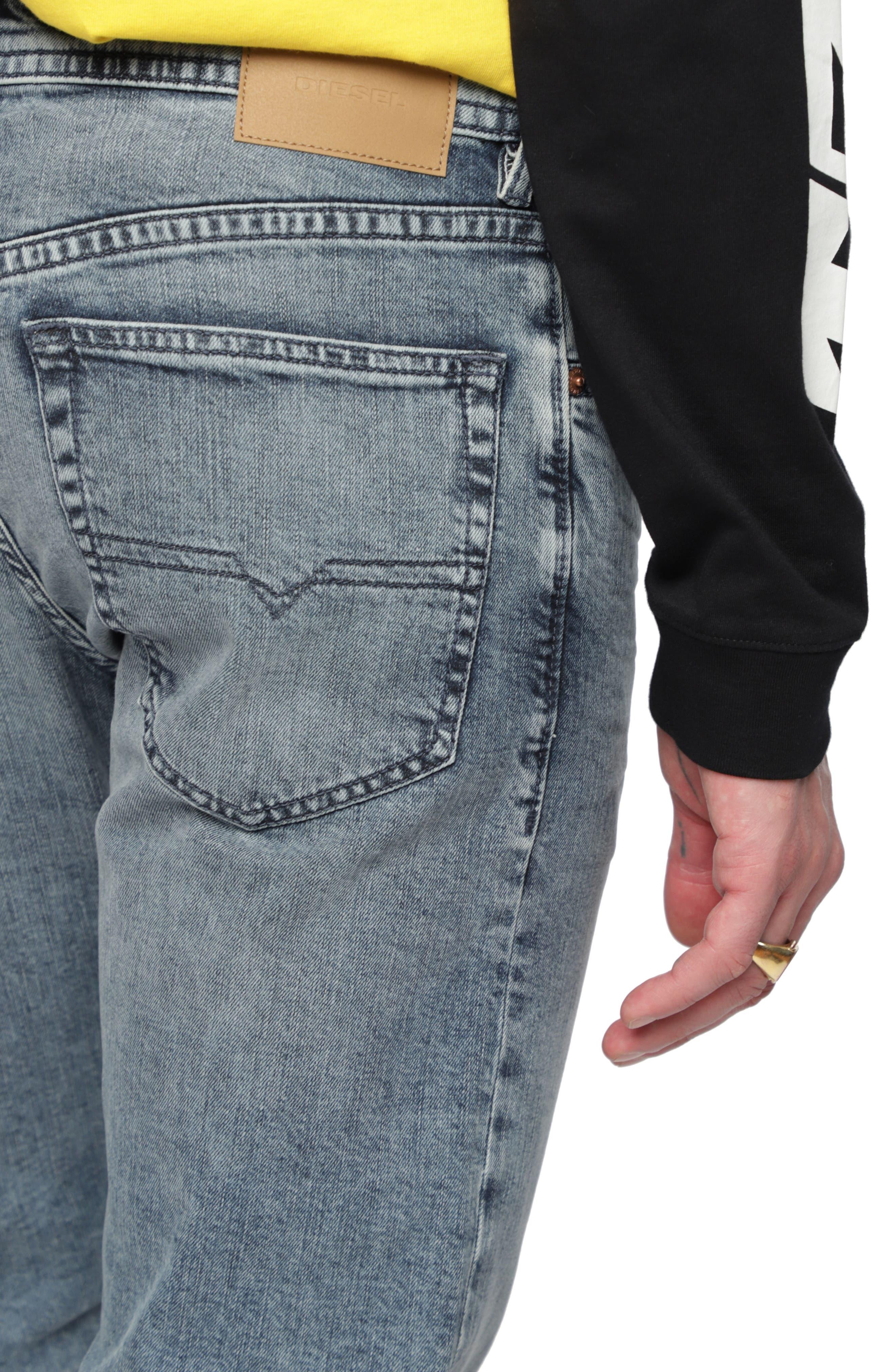 Buster Slim Fit Straight Leg Jeans,                             Alternate thumbnail 4, color,                             084Ux