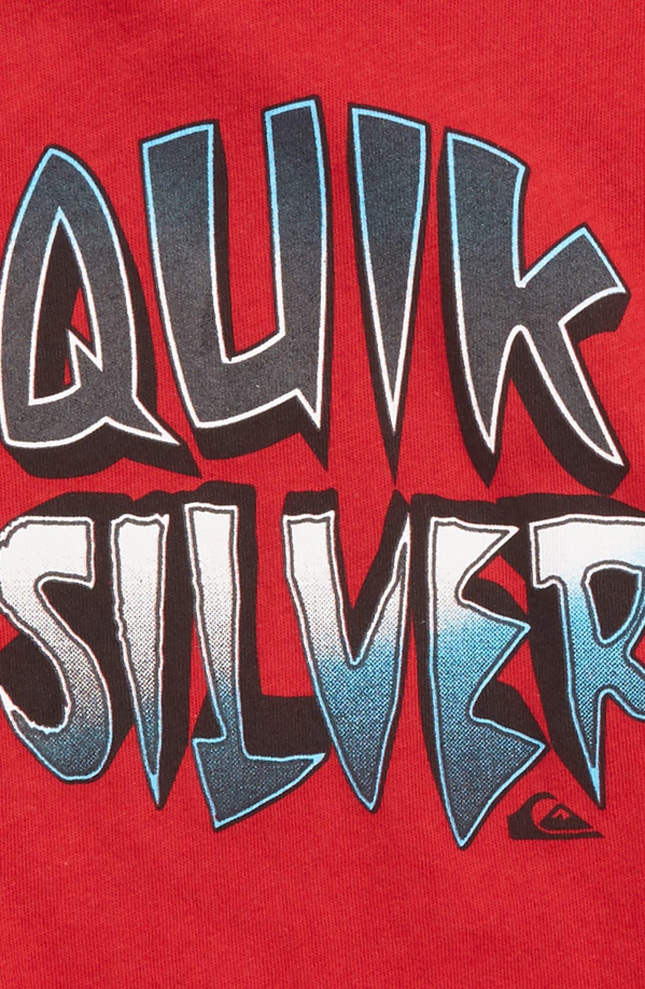 Capt Cavern Graphic T-Shirt,                             Alternate thumbnail 2, color,                             Chili Pepper