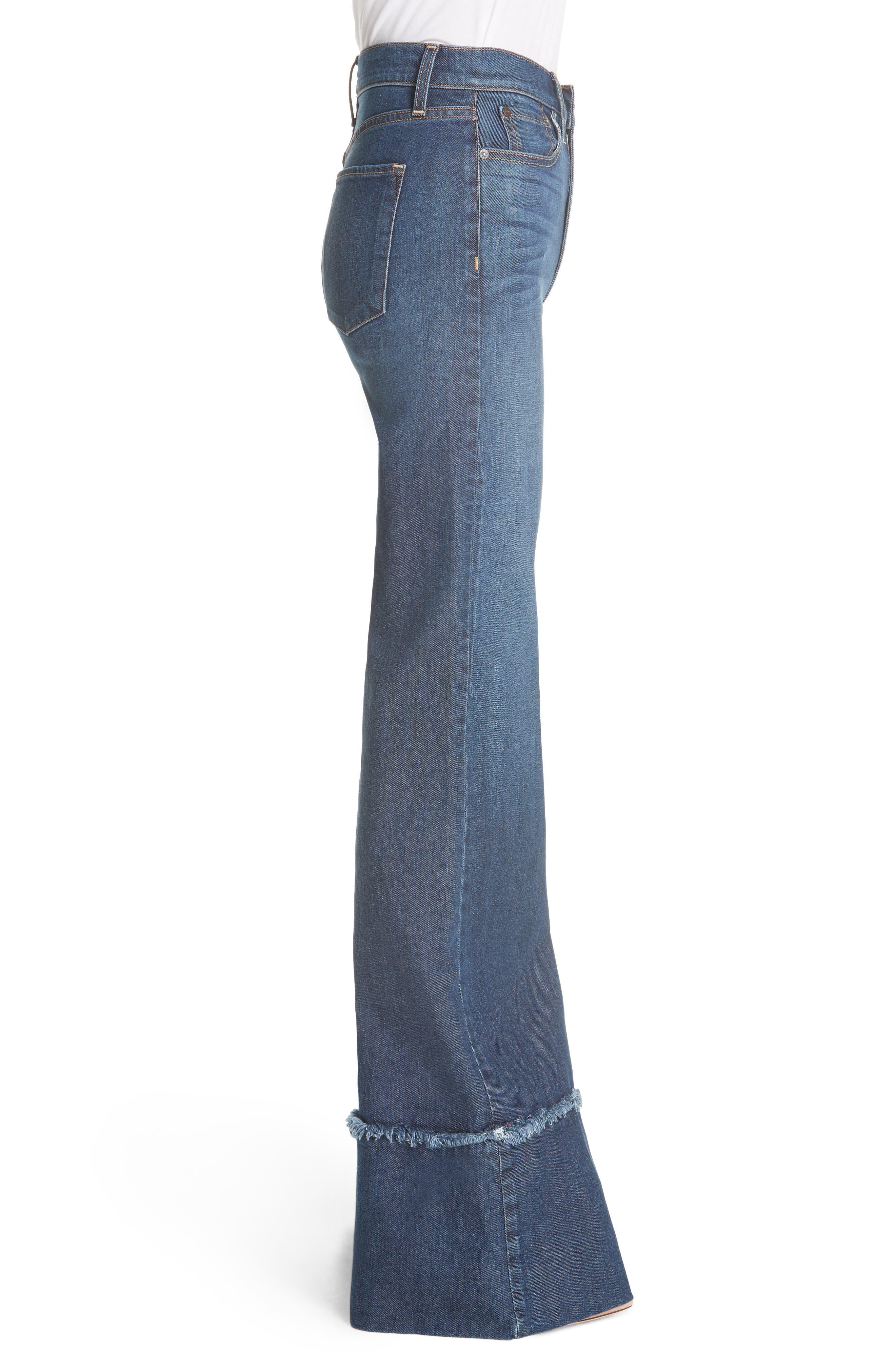 Gorgeous Flare Leg Jeans,                             Alternate thumbnail 5, color,                             So Clever