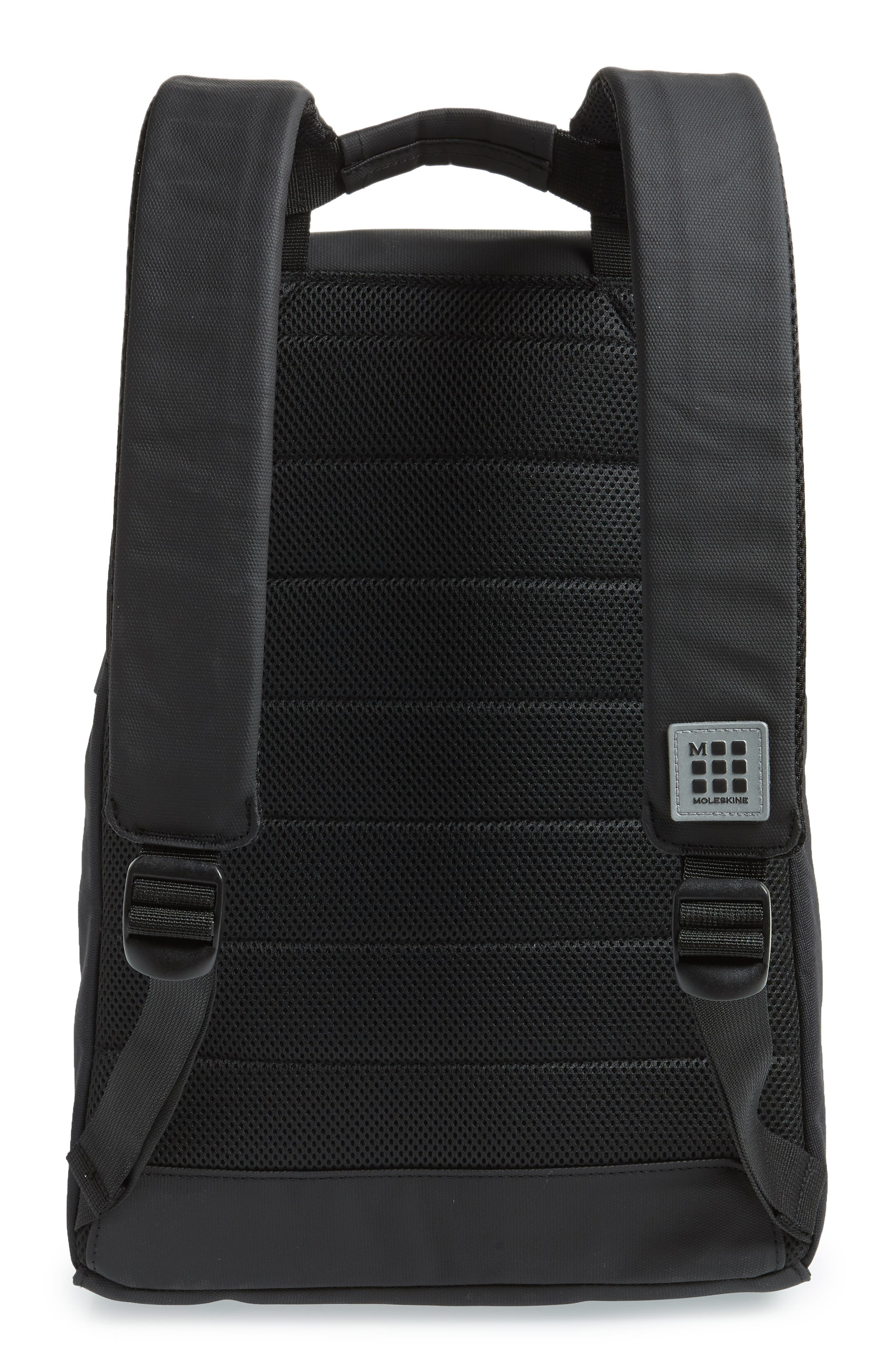 Nomad Water Resistant Backpack,                             Alternate thumbnail 3, color,                             Black