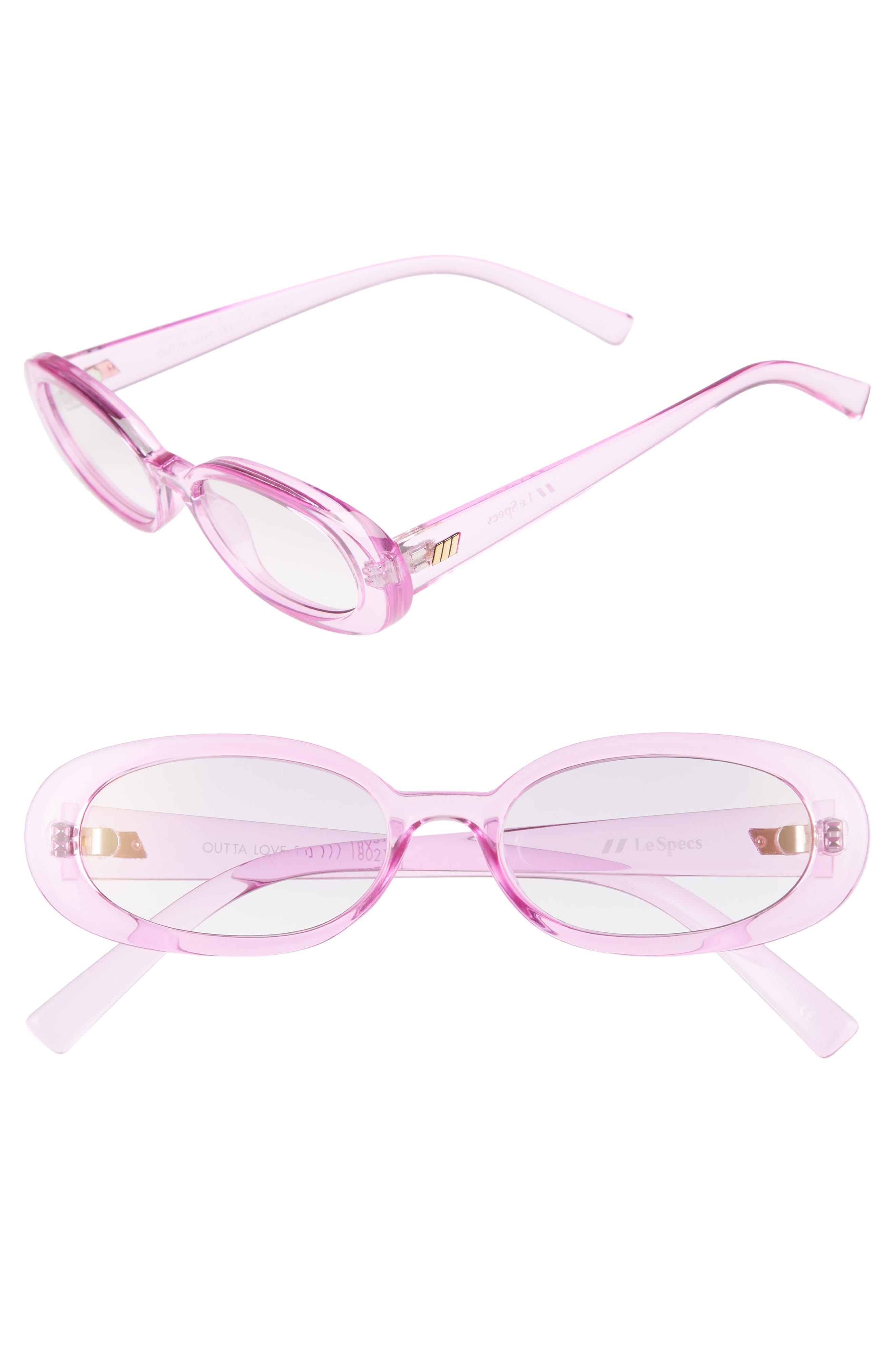 Outta Love 49mm Cat Eye Sunglasses,                             Main thumbnail 1, color,                             Powder-Puff
