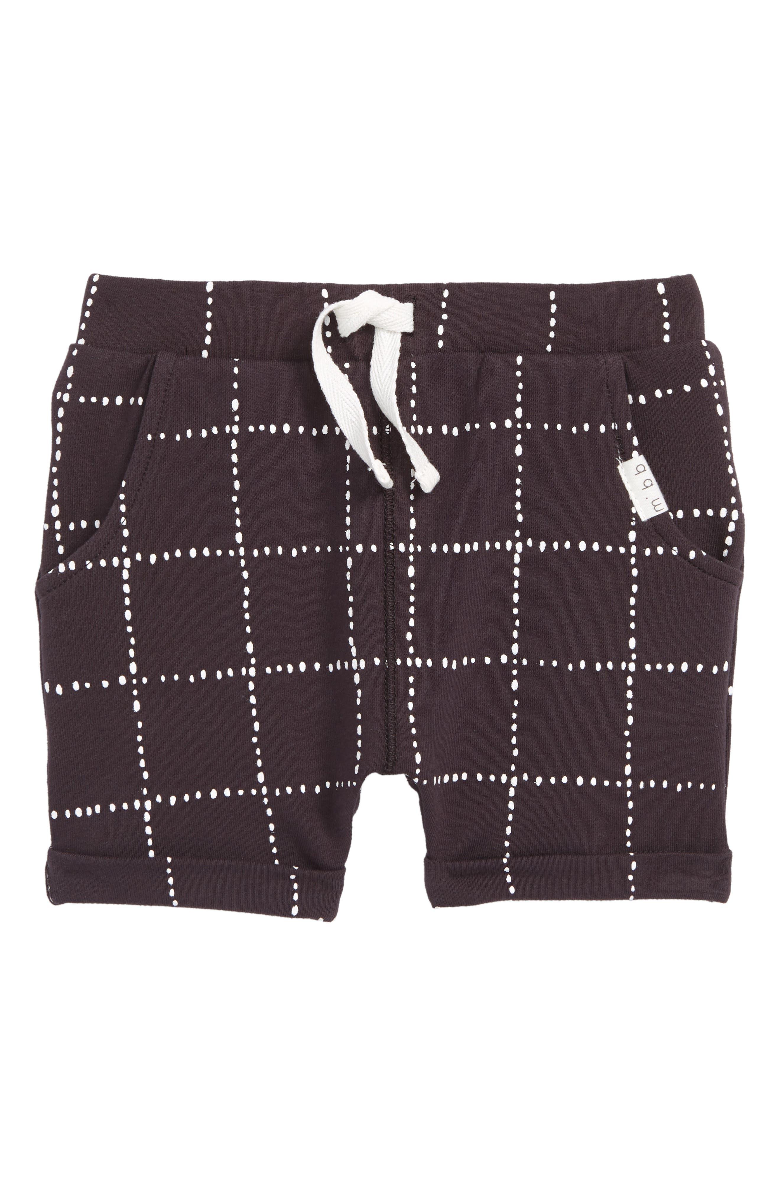 Miles Baby Check Print Shorts (Baby)