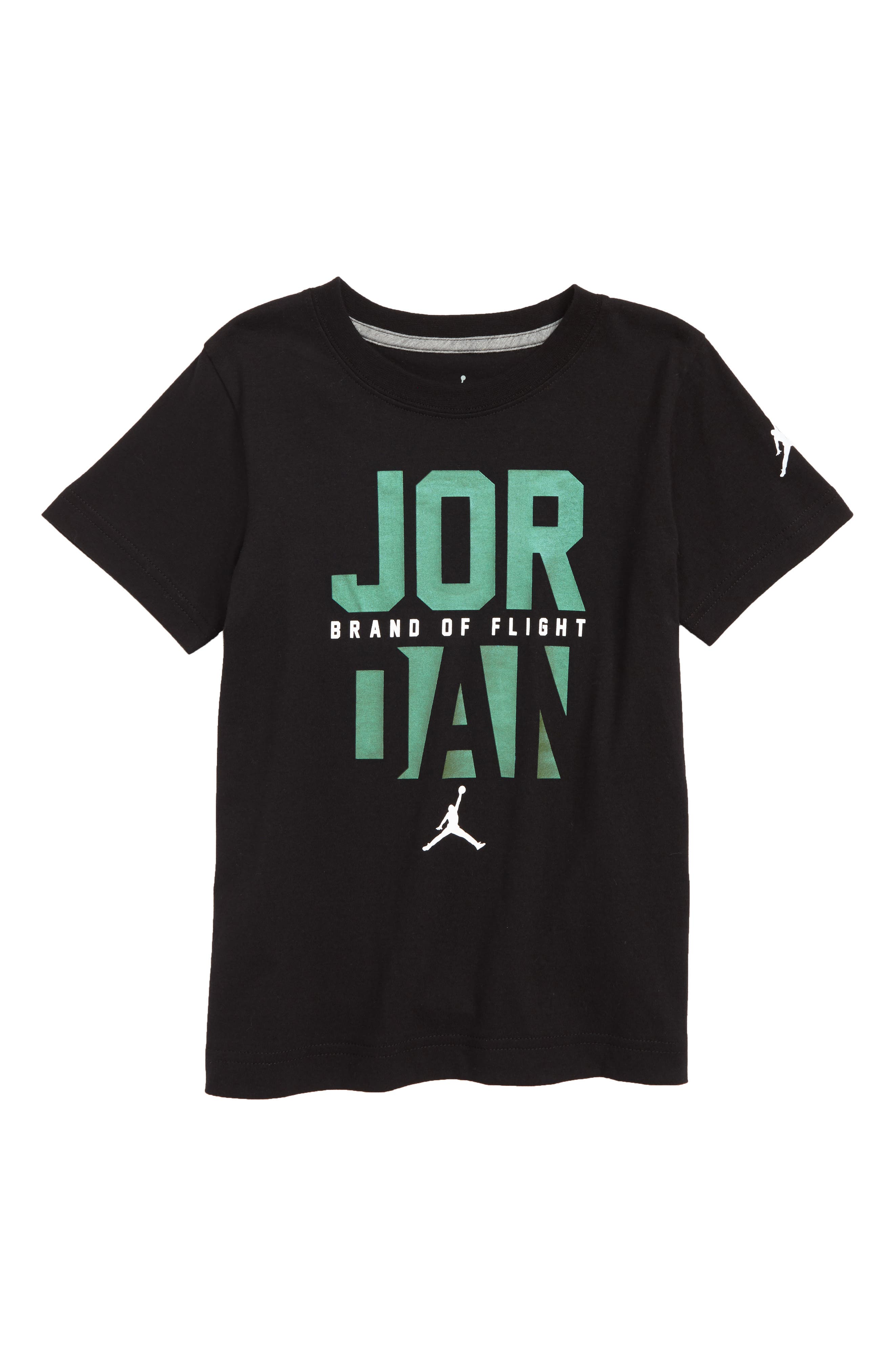 Jordan Clean Sweep T-Shirt,                             Main thumbnail 1, color,                             Black