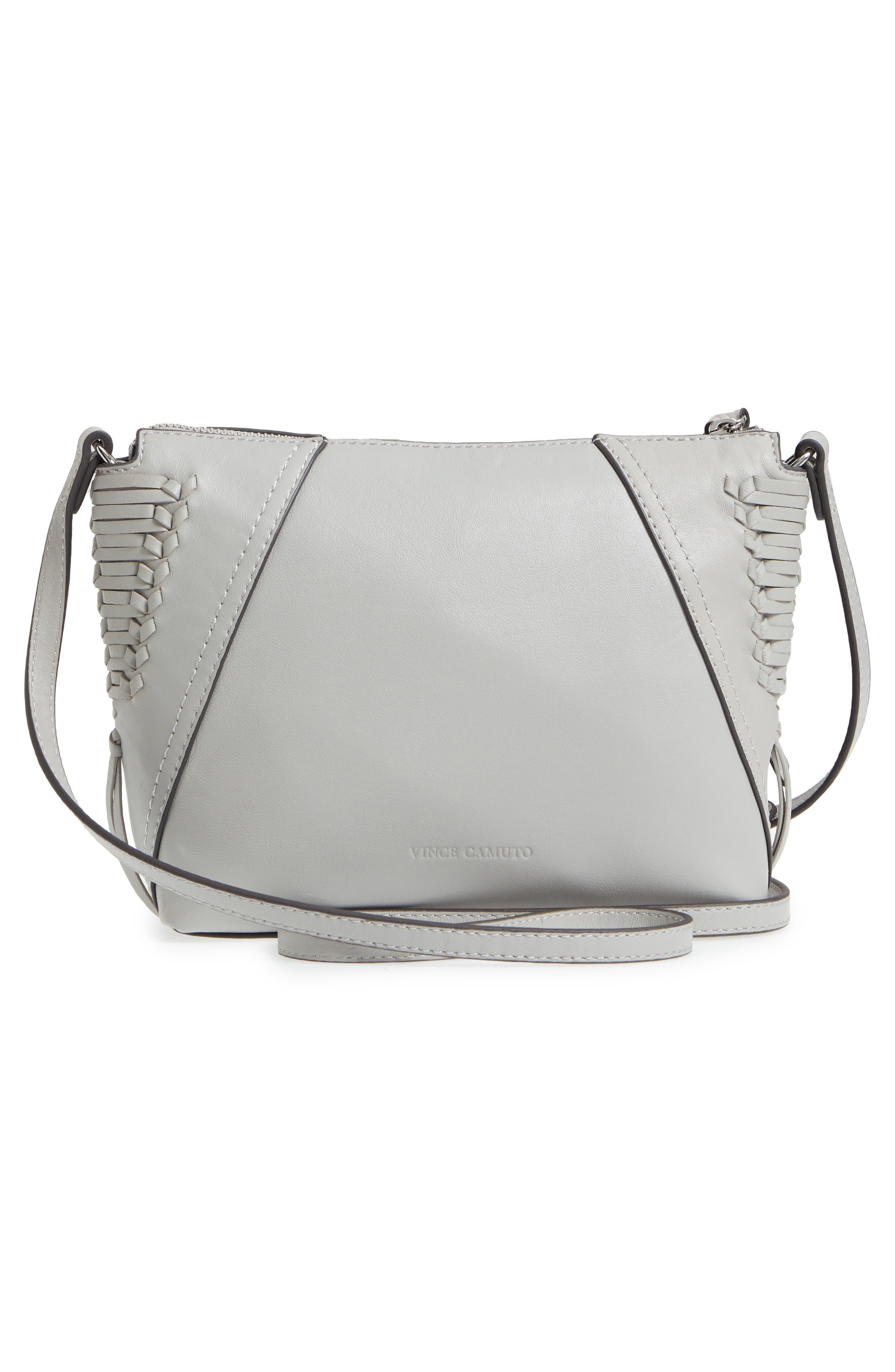 Ilda Leather Crossbody Bag,                             Alternate thumbnail 3, color,                             Full Steam