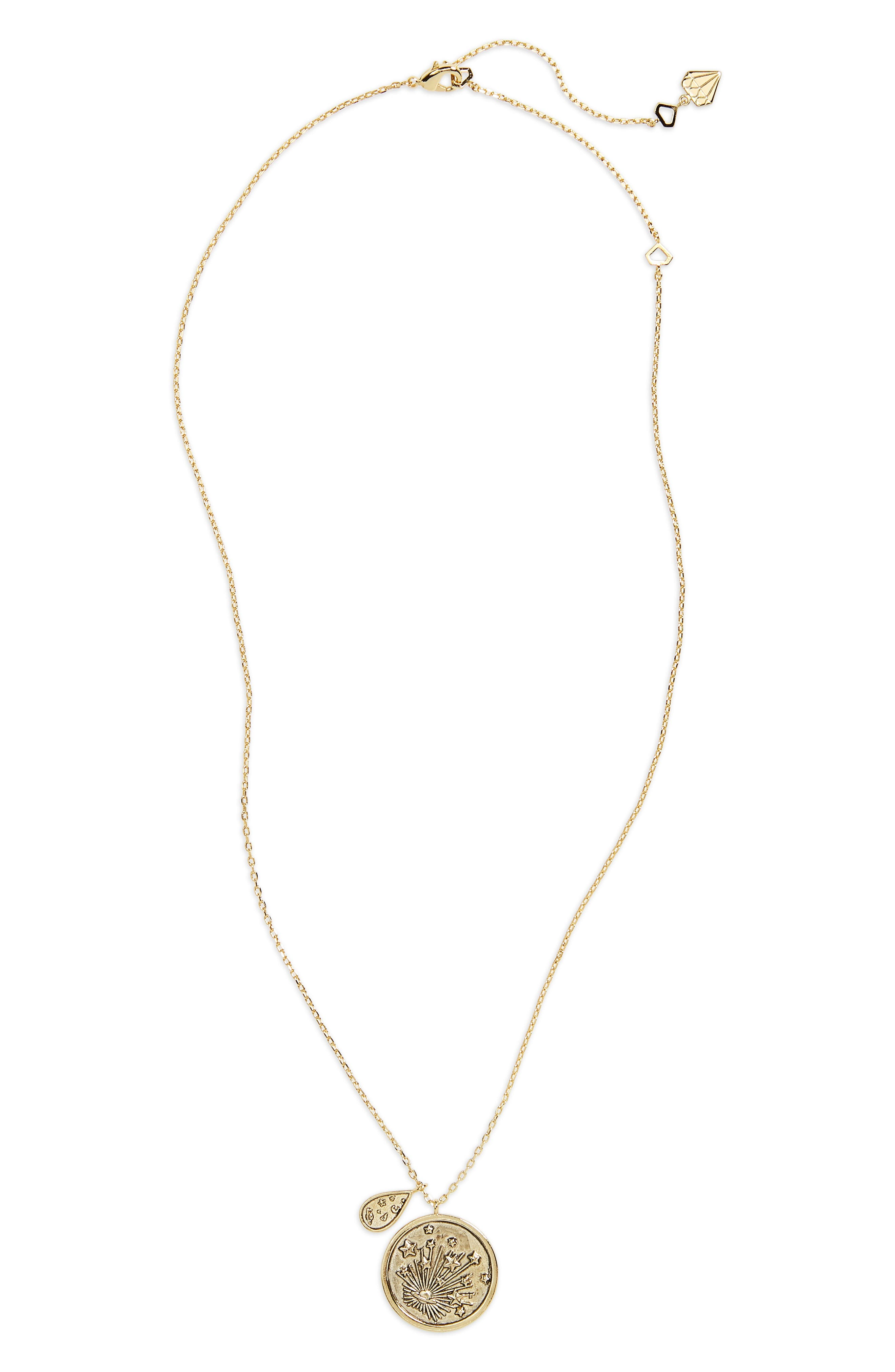 Out of this World Necklace,                         Main,                         color, Gold