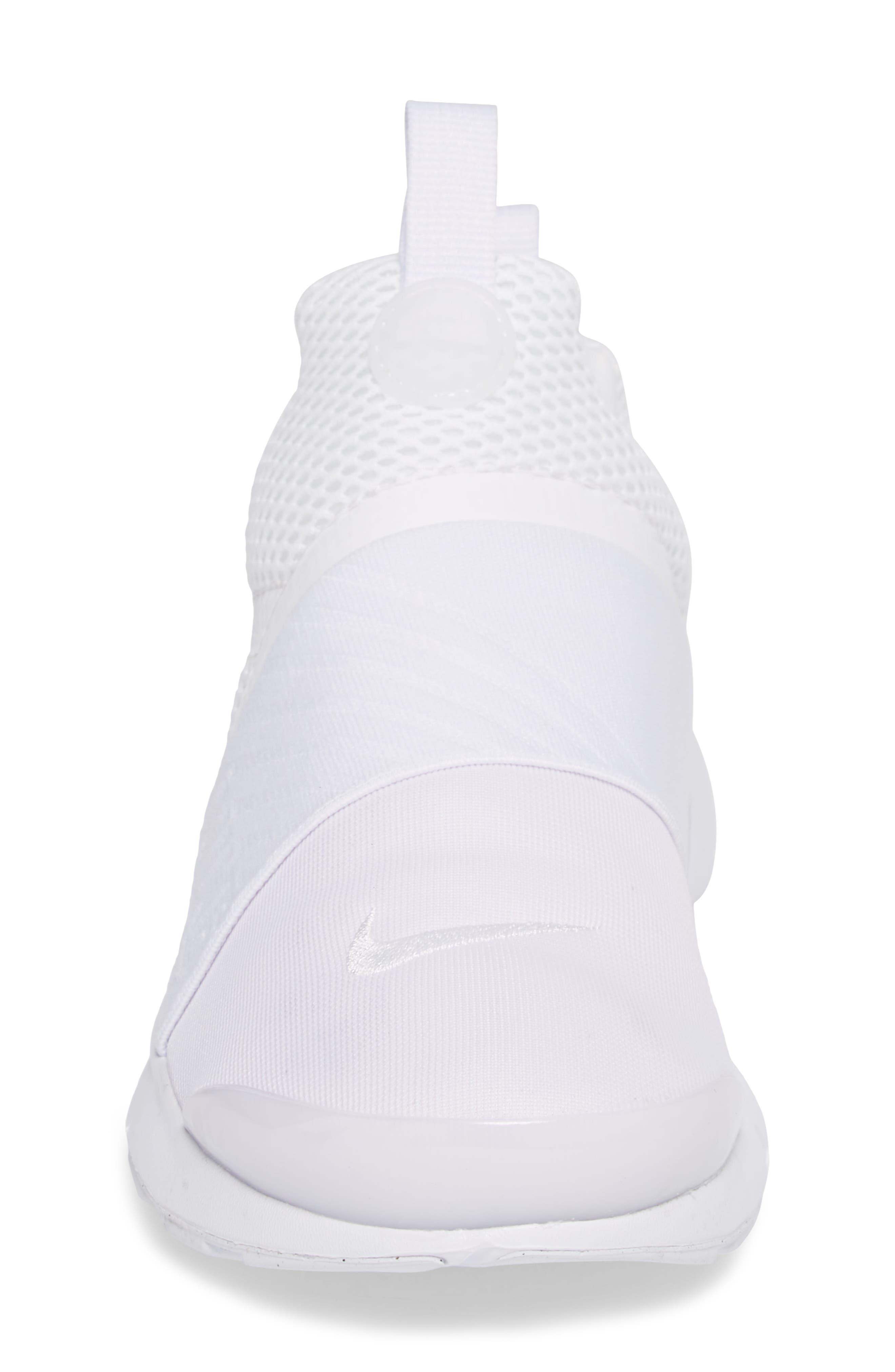Presto Extreme Sneaker,                             Alternate thumbnail 4, color,                             White/ White/ White