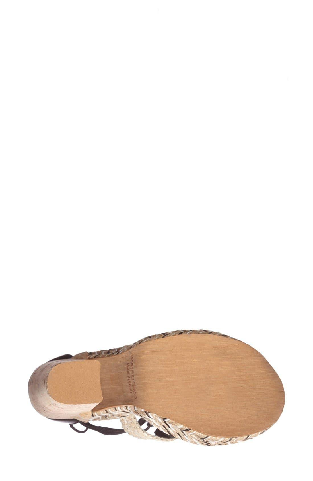 Alternate Image 4  - Free People 'High Society' Platform Sandal (Women)
