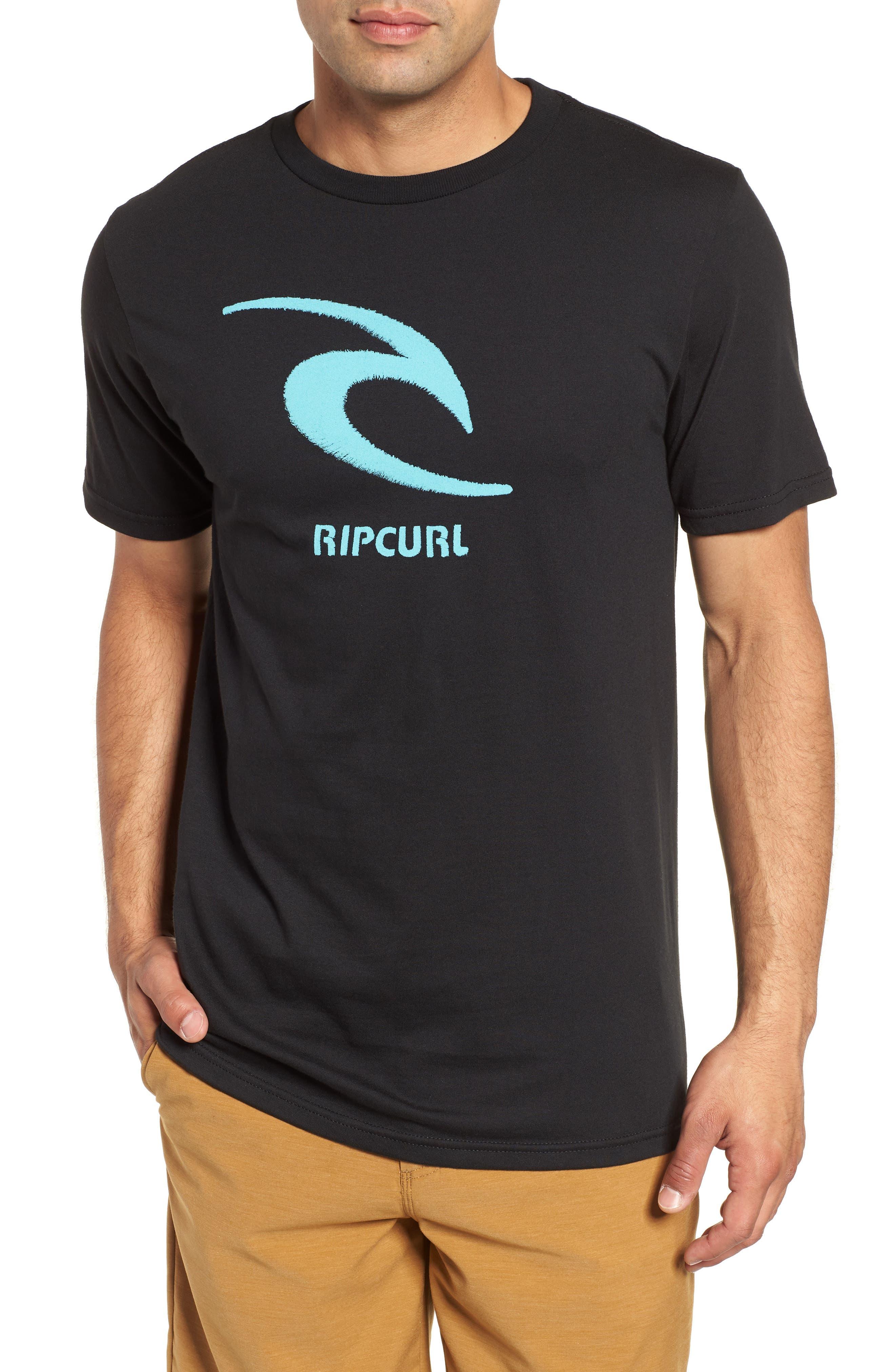 Threaded Classic T-Shirt,                         Main,                         color, Black