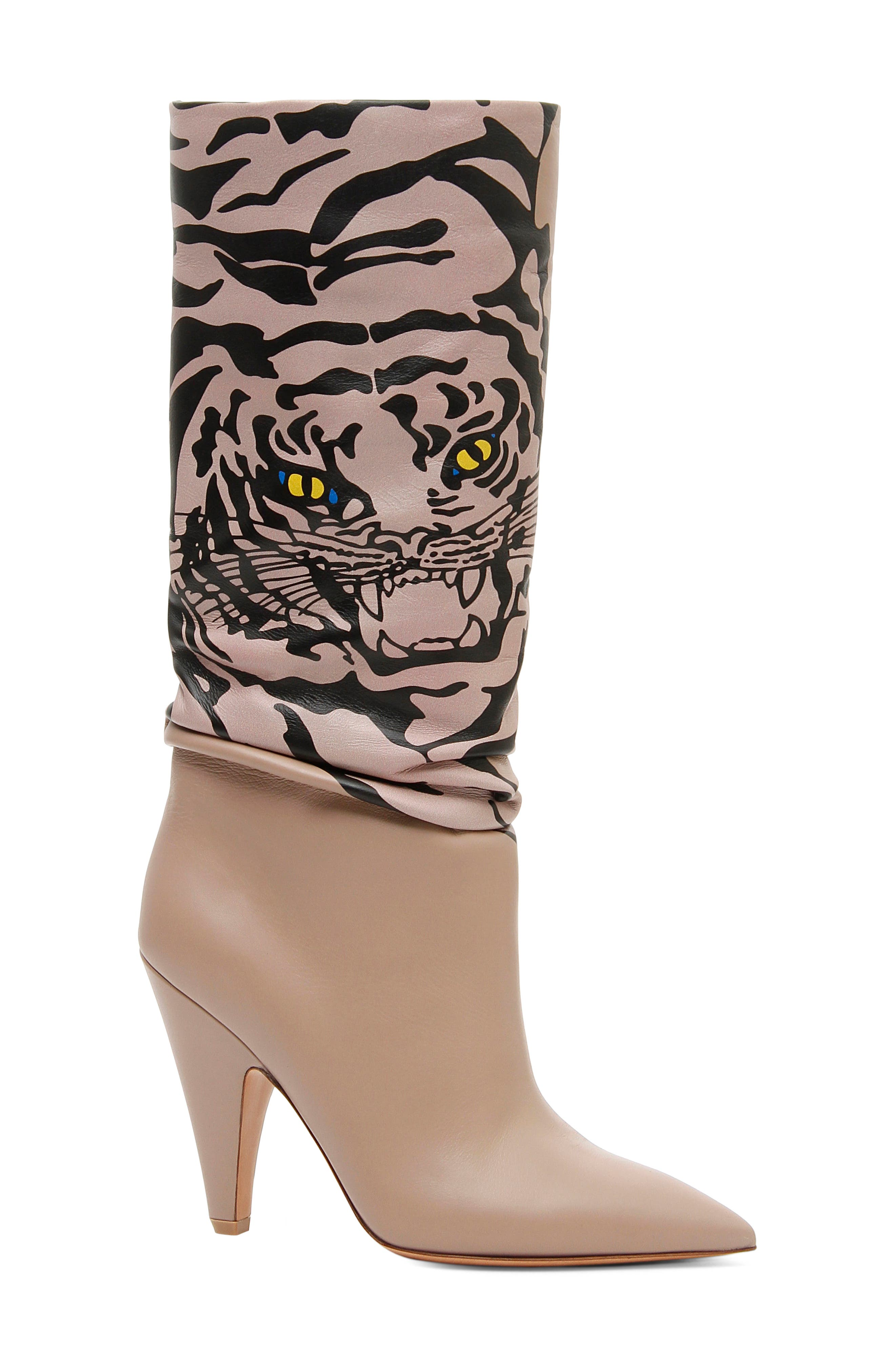 ValentinoWomen's Tiger Slouch Boot