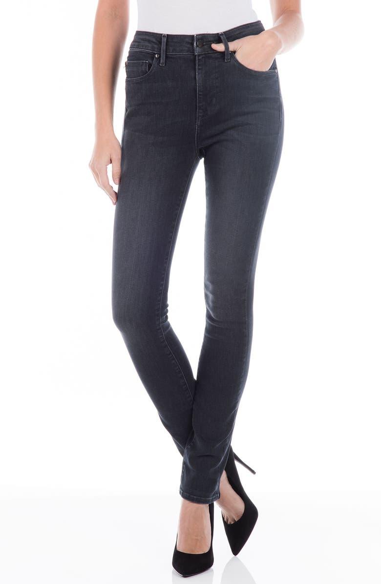 Cher High Waist Slim Jeans