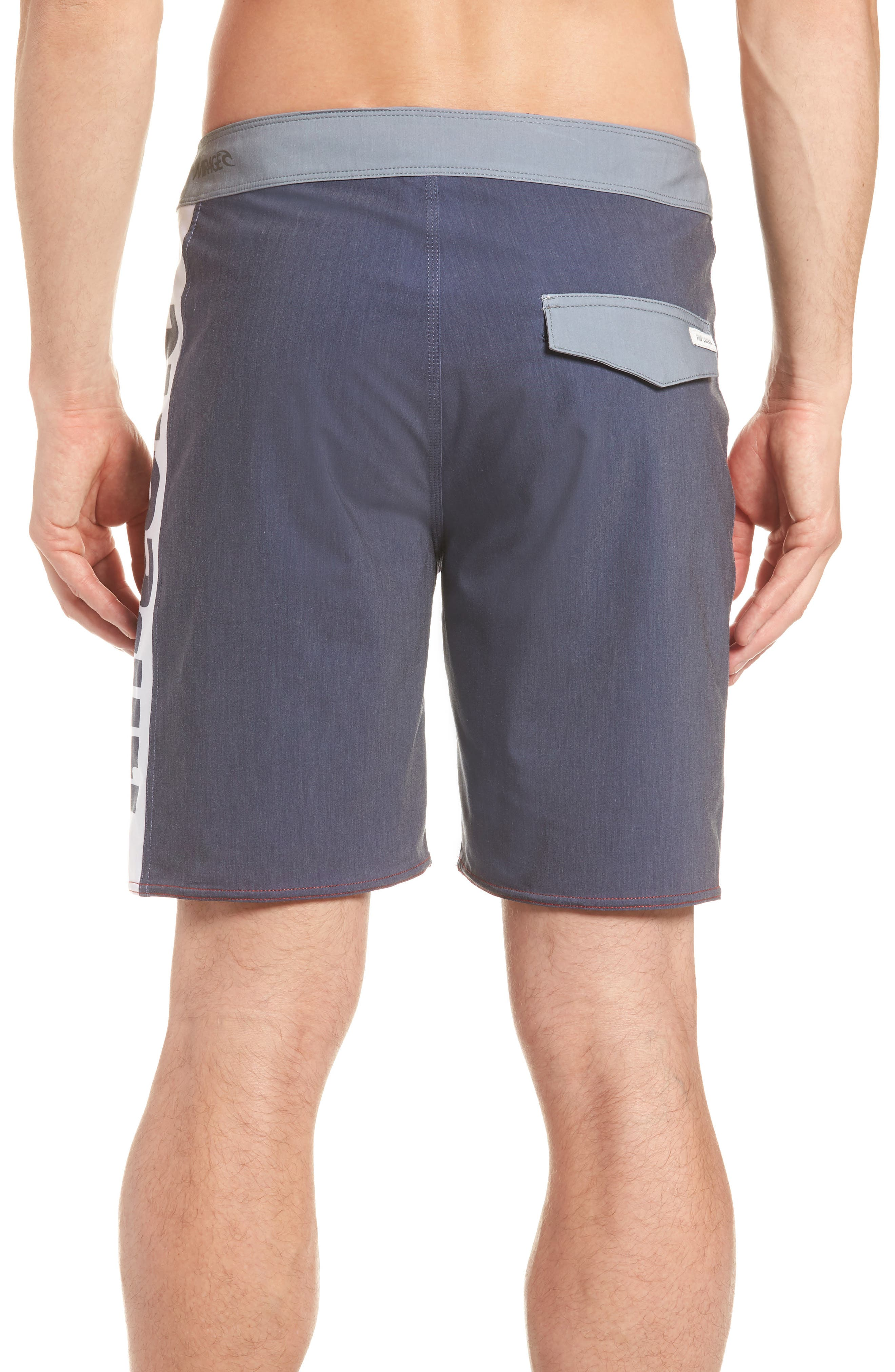 Mirage Owen Stretch Board Shorts,                             Alternate thumbnail 2, color,                             Red