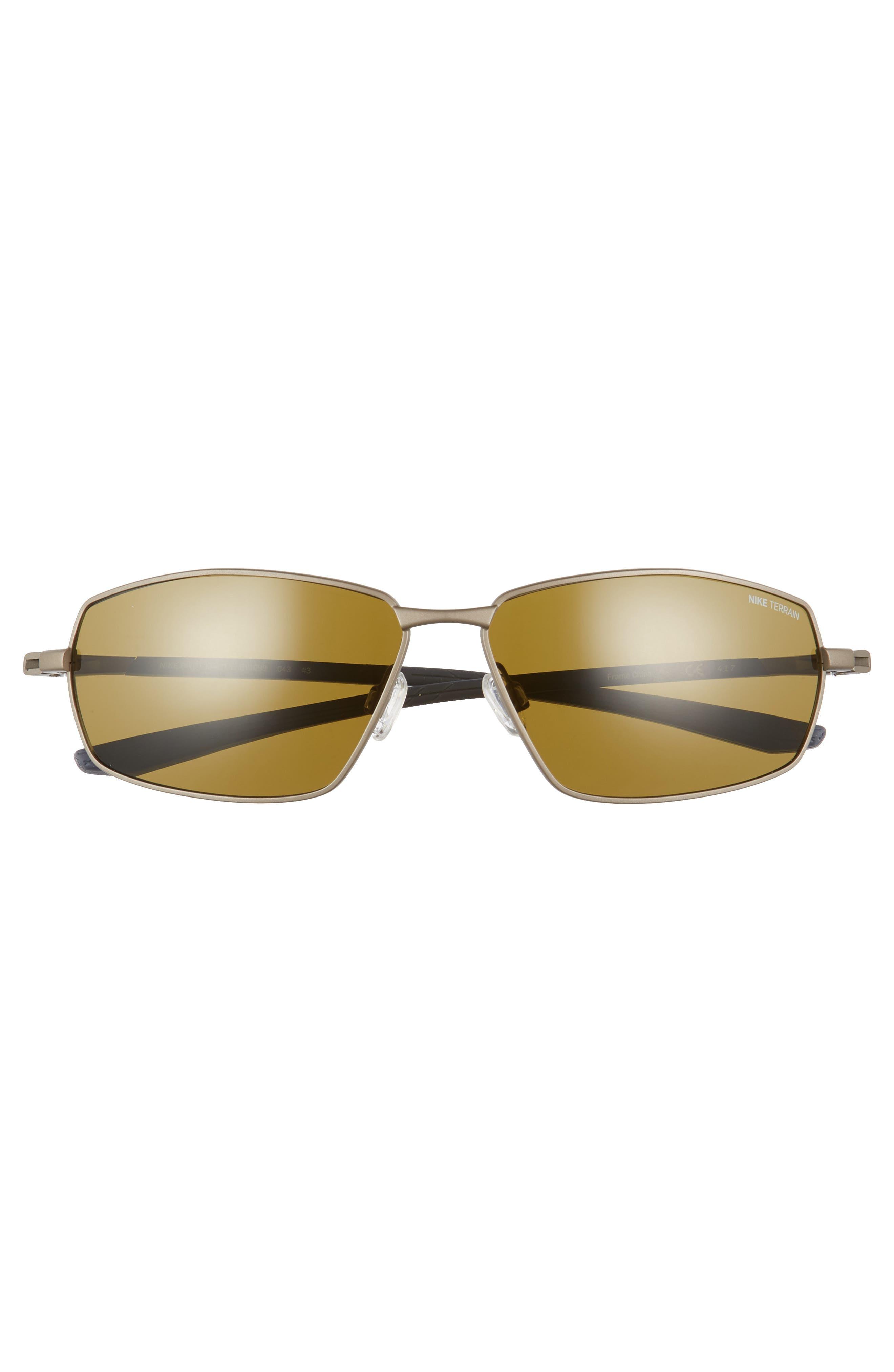 Pivot Eight E 62mm Oversize Sunglasses,                             Alternate thumbnail 2, color,                             Satin Pewter/ Terrain Tint