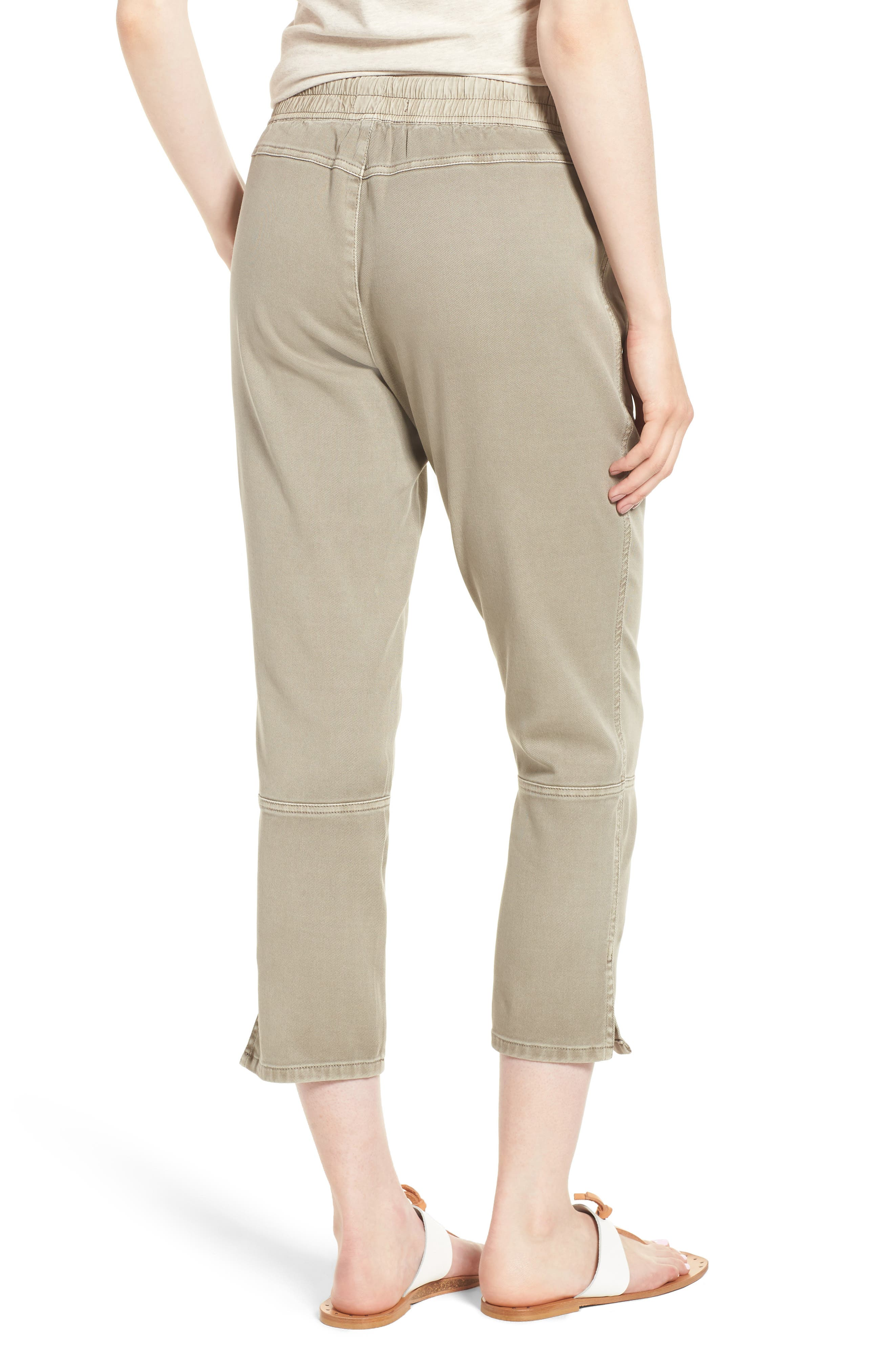 Open Road Ankle Pants,                             Alternate thumbnail 2, color,                             Flax