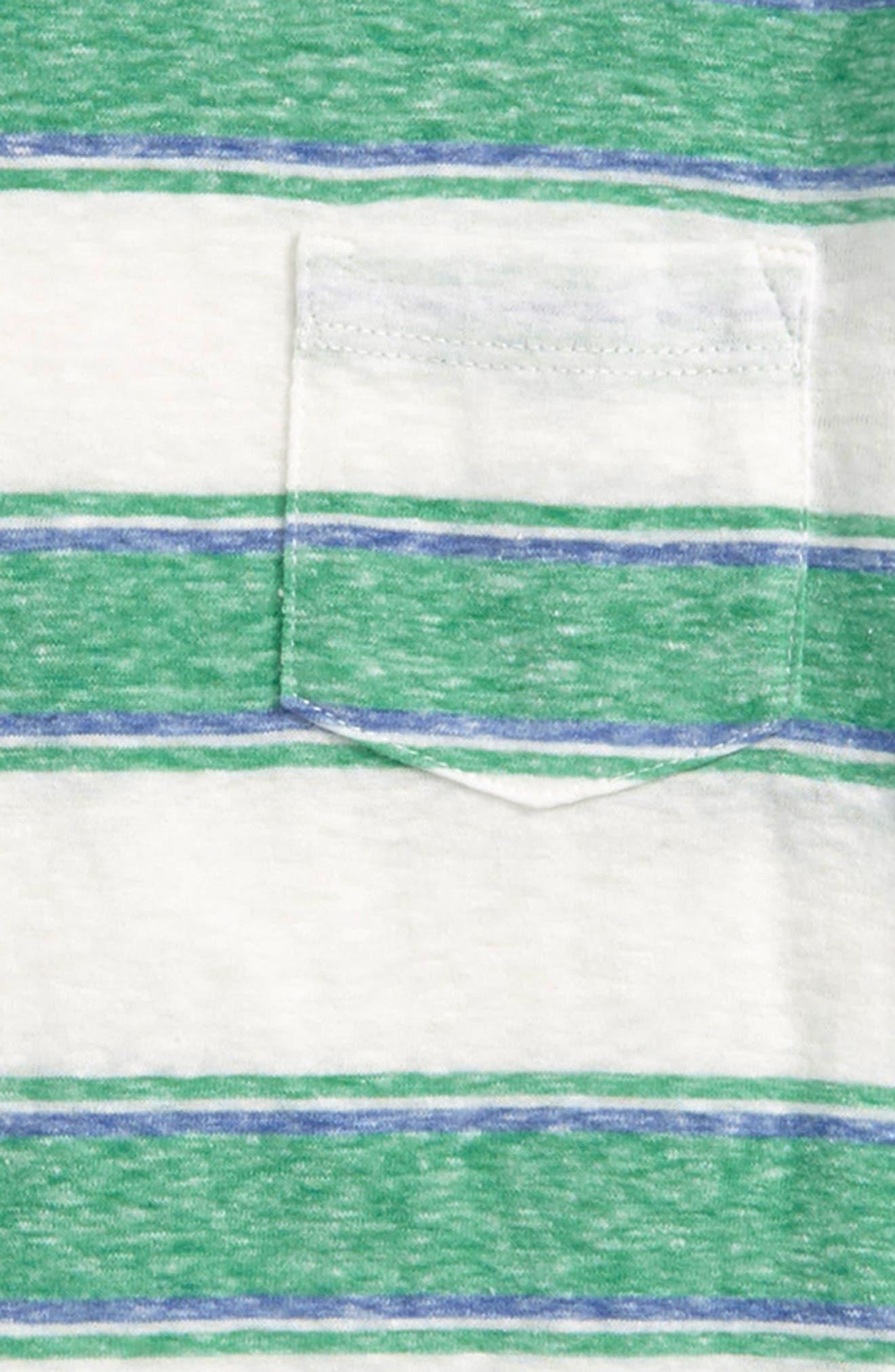 Abbot Surfside Stripe T-Shirt,                             Alternate thumbnail 2, color,                             Clover Ivory Multi