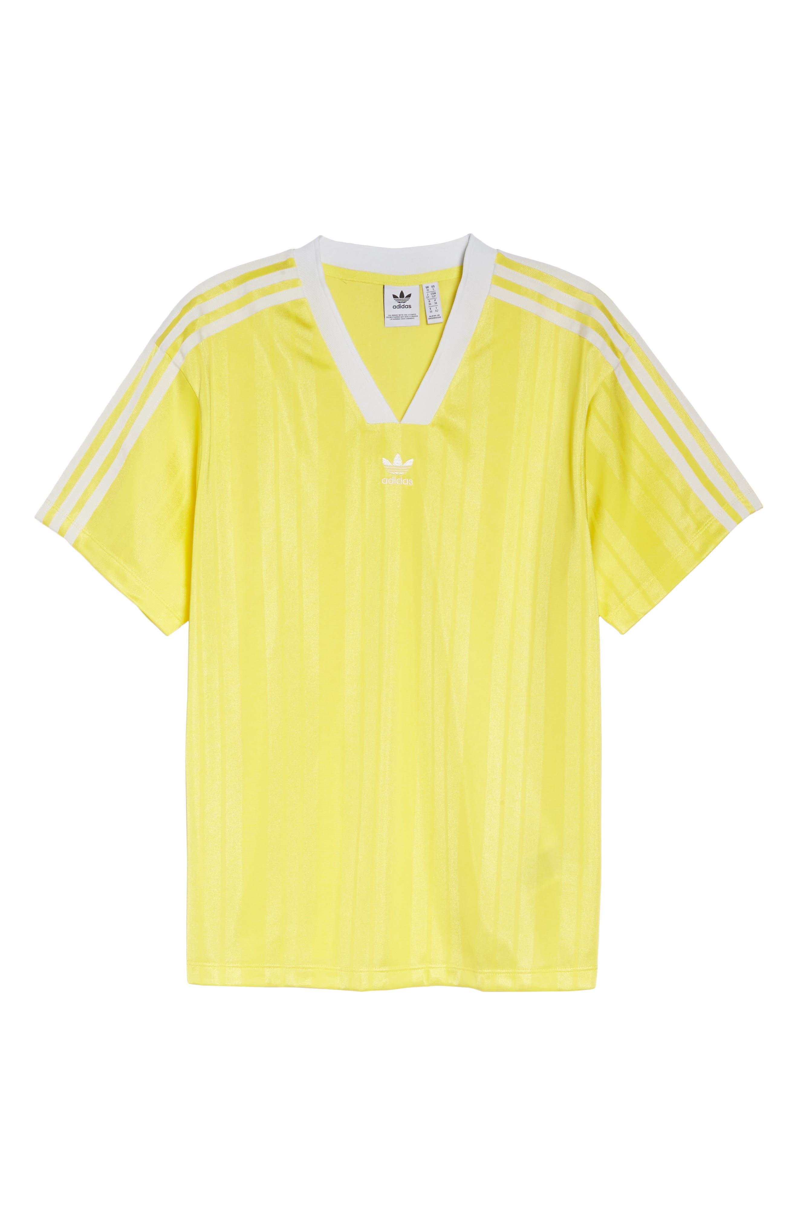 Originals Fashion League Jersey Tee,                             Alternate thumbnail 6, color,                             Prime Yellow