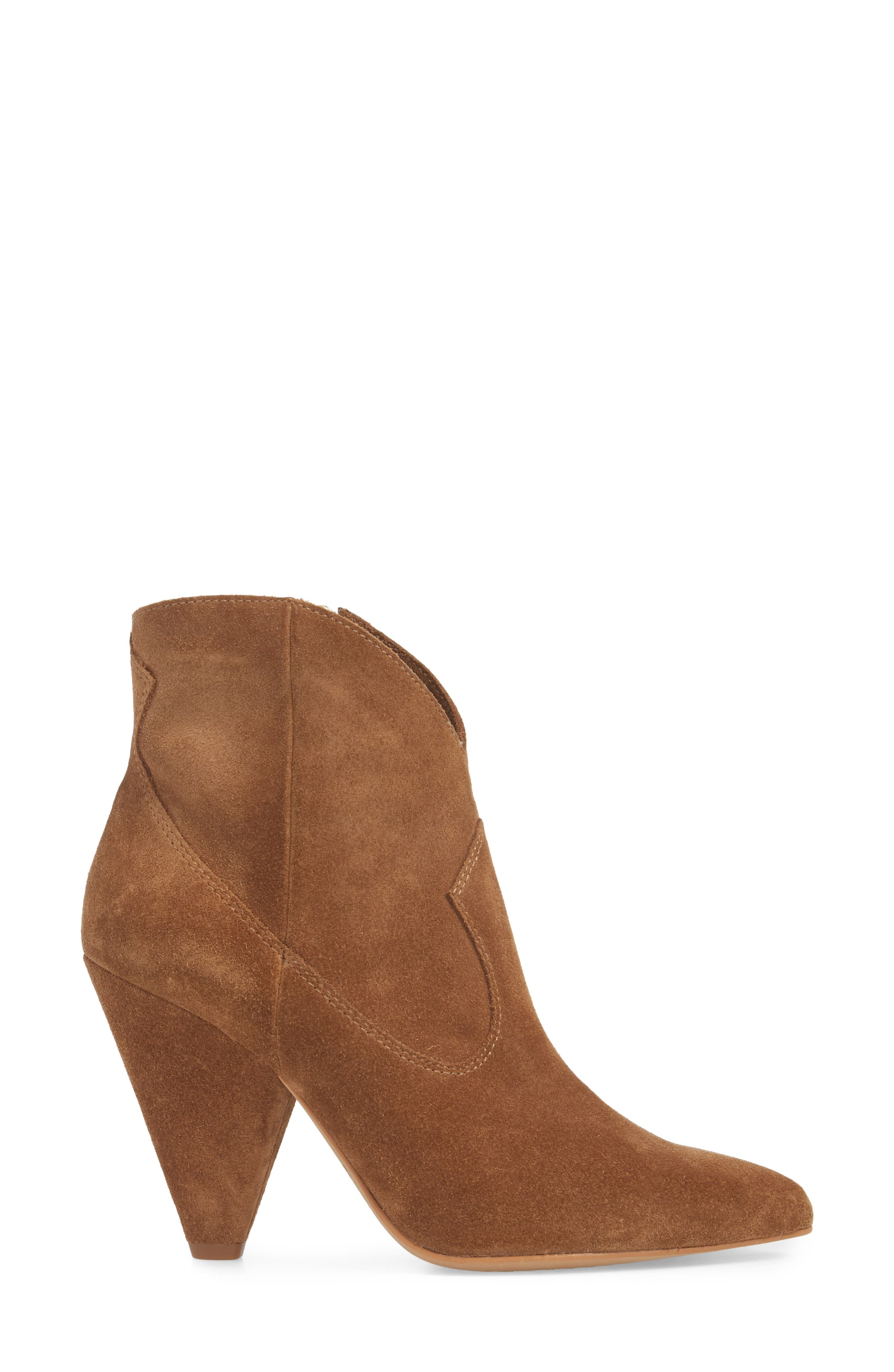 Movinta Bootie,                             Alternate thumbnail 3, color,                             Tree House Suede