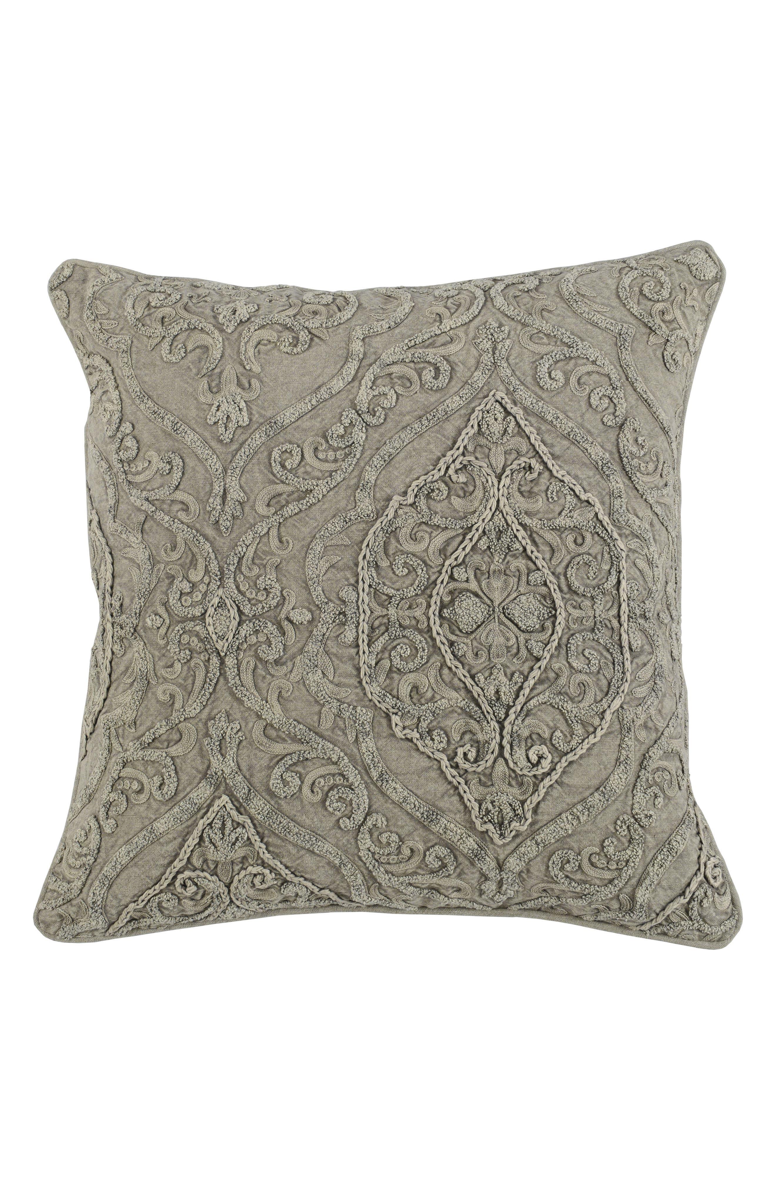 Abilene Accent Pillow,                             Main thumbnail 1, color,                             Natural