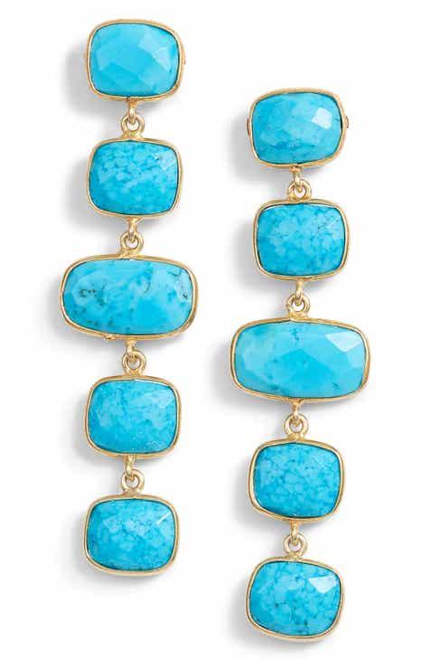Jemma Sands Amalfi Stone Drop Earrings