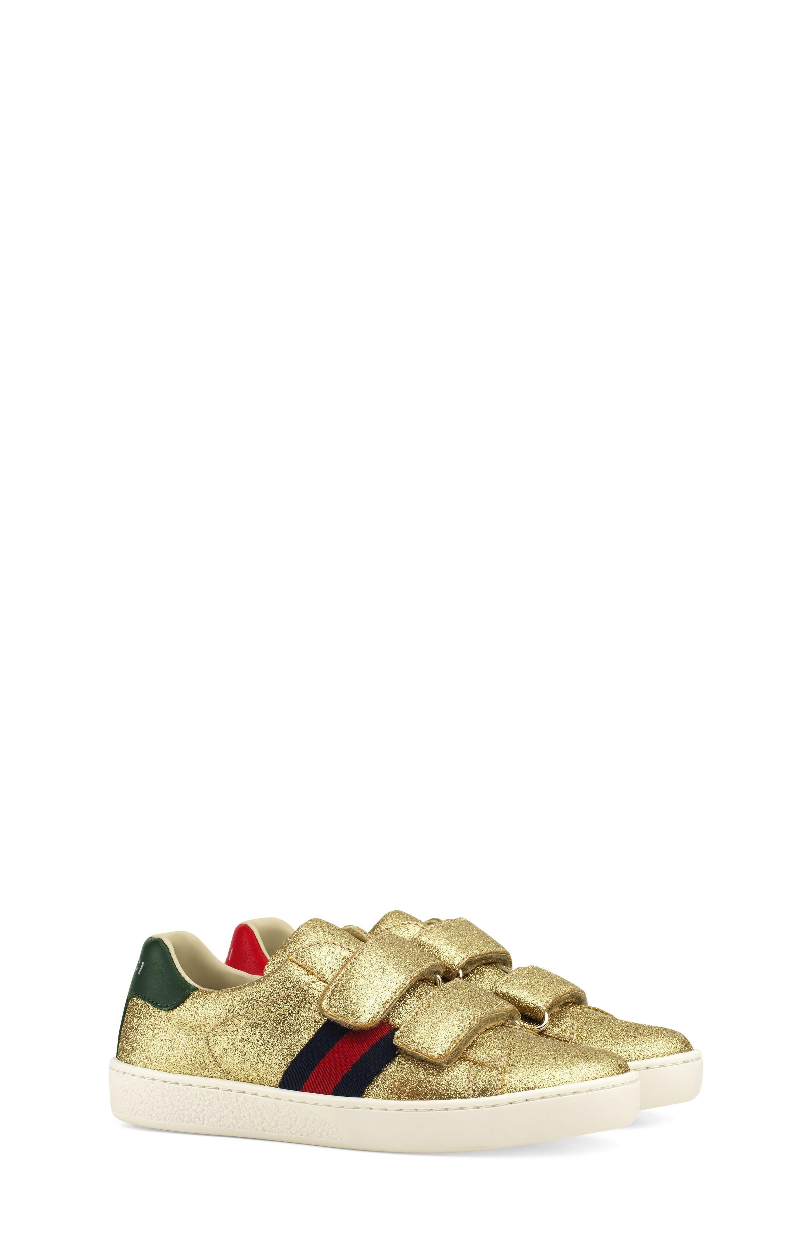 New Ace Sneaker,                             Main thumbnail 1, color,                             Metallic Gold