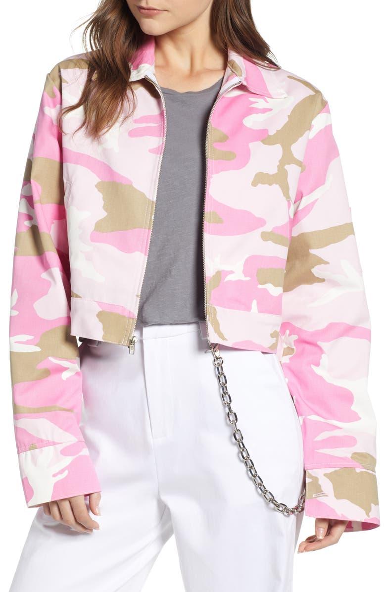 Camo Crop Jacket