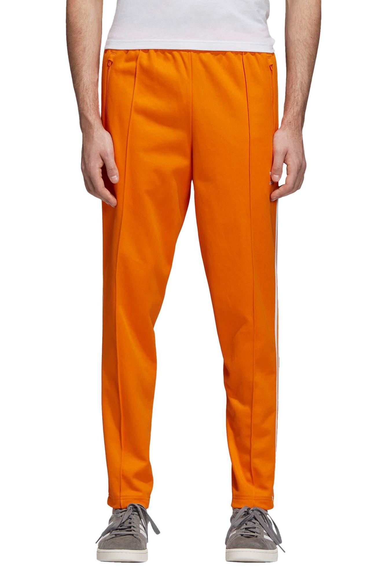 BB Track Pants,                         Main,                         color, Bright Orange
