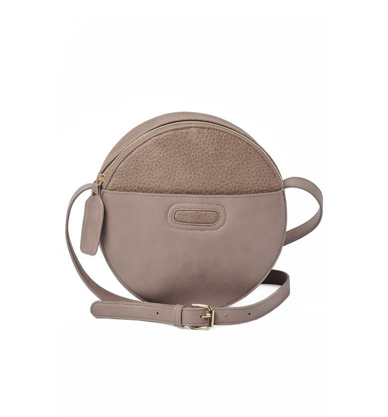 Urban Originals CAROUSEL VEGAN LEATHER CROSSBODY BAG - BROWN