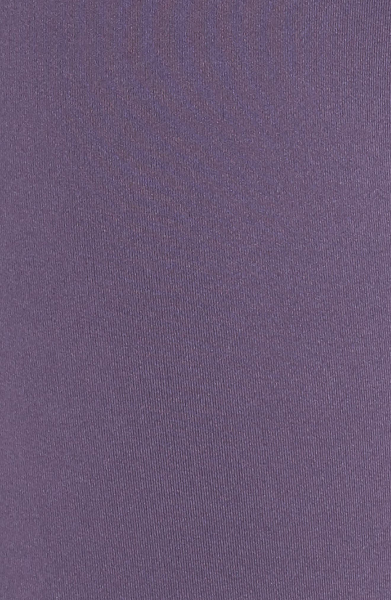 Believe This High Waist Tights,                             Alternate thumbnail 3, color,                             Trace Purple