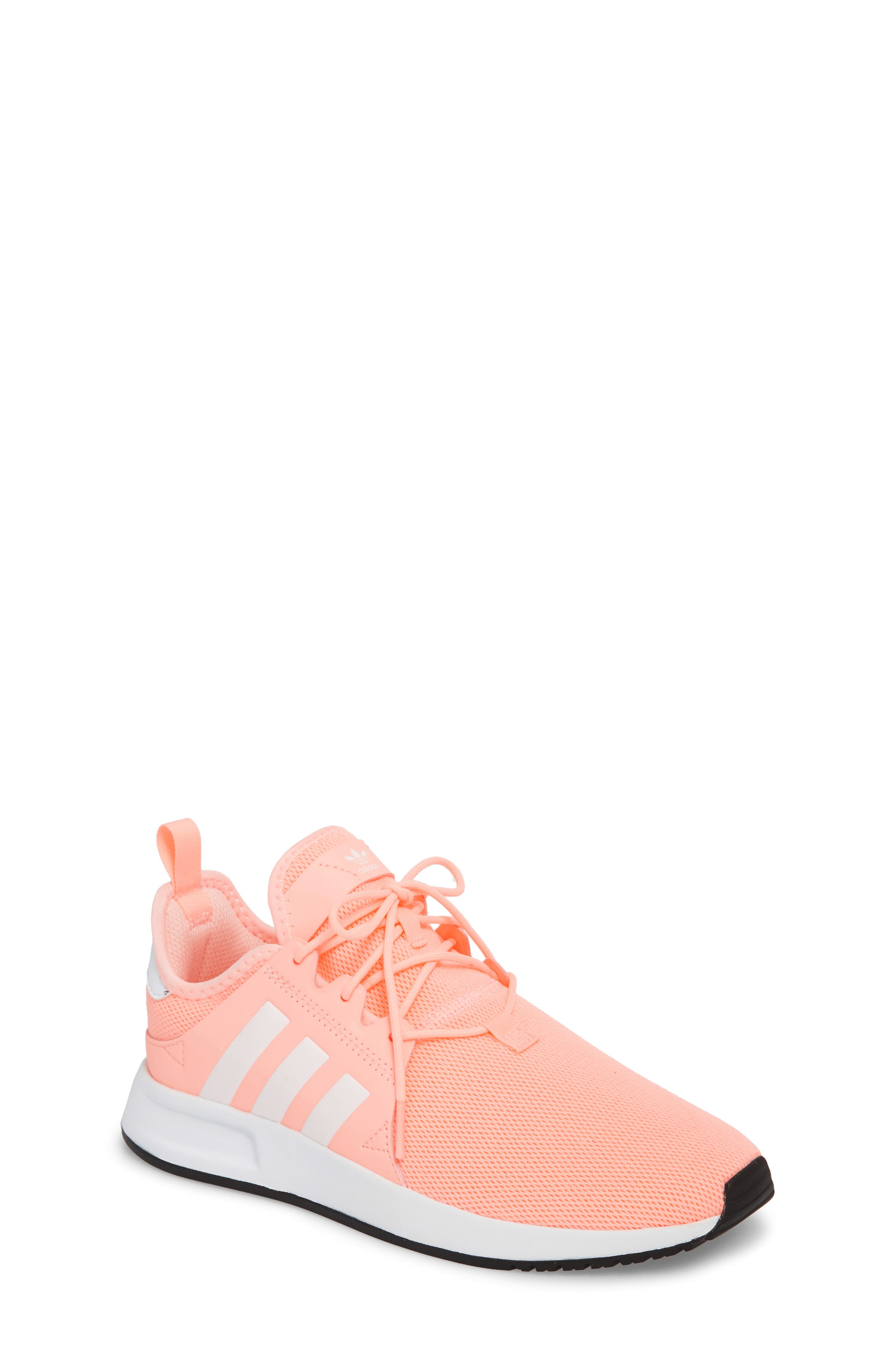 X_PLR Sneaker,                         Main,                         color, Clear Orange/ White