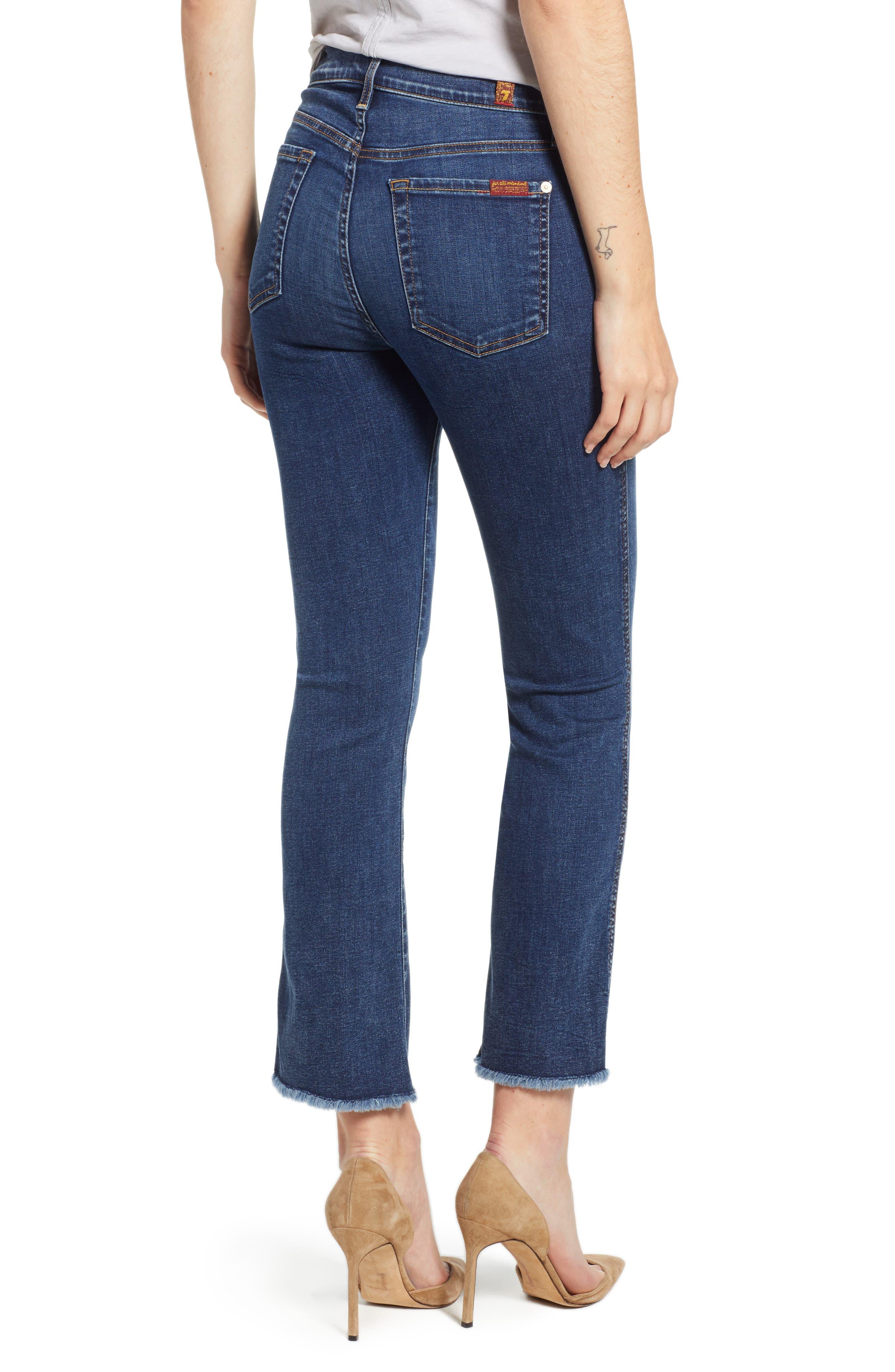 b(air) Crop Bootcut Jeans,                             Alternate thumbnail 2, color,                             B Air Echo