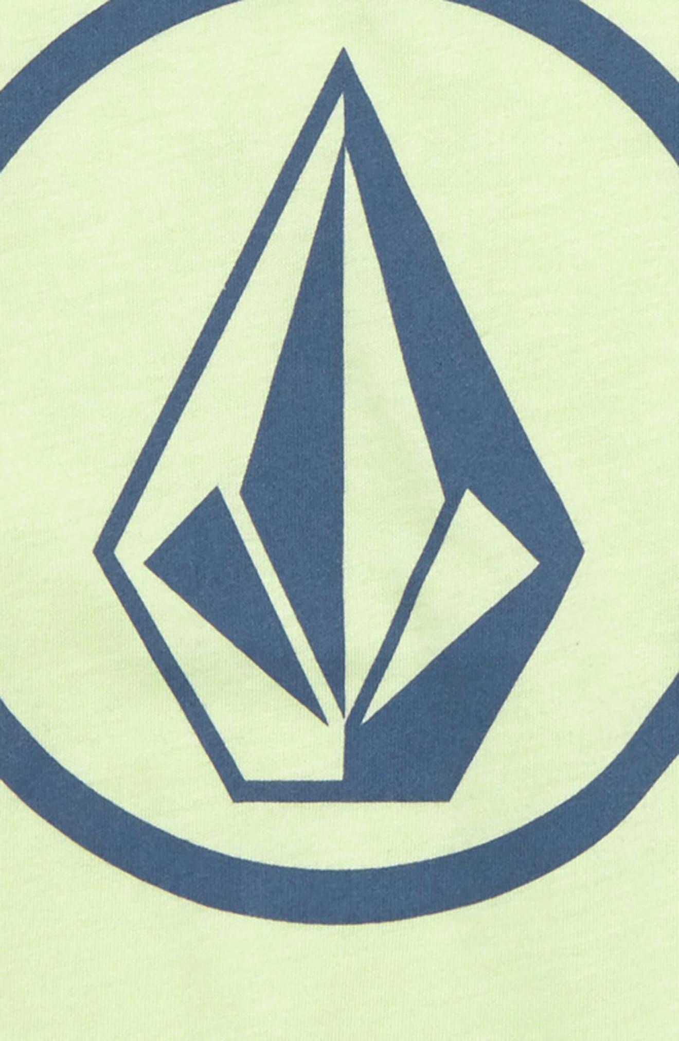Circle Stone Logo Graphic T-Shirt,                             Alternate thumbnail 2, color,                             Mist Green