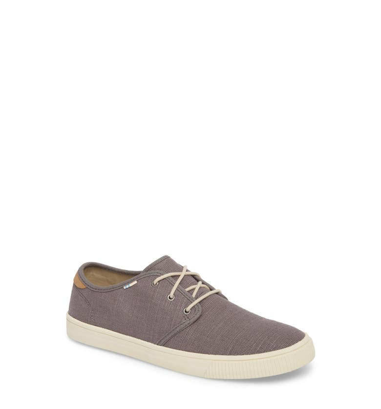 80e9d8ceaa2 Toms Carlo Low Top Sneaker In Shade Heritage Canvas