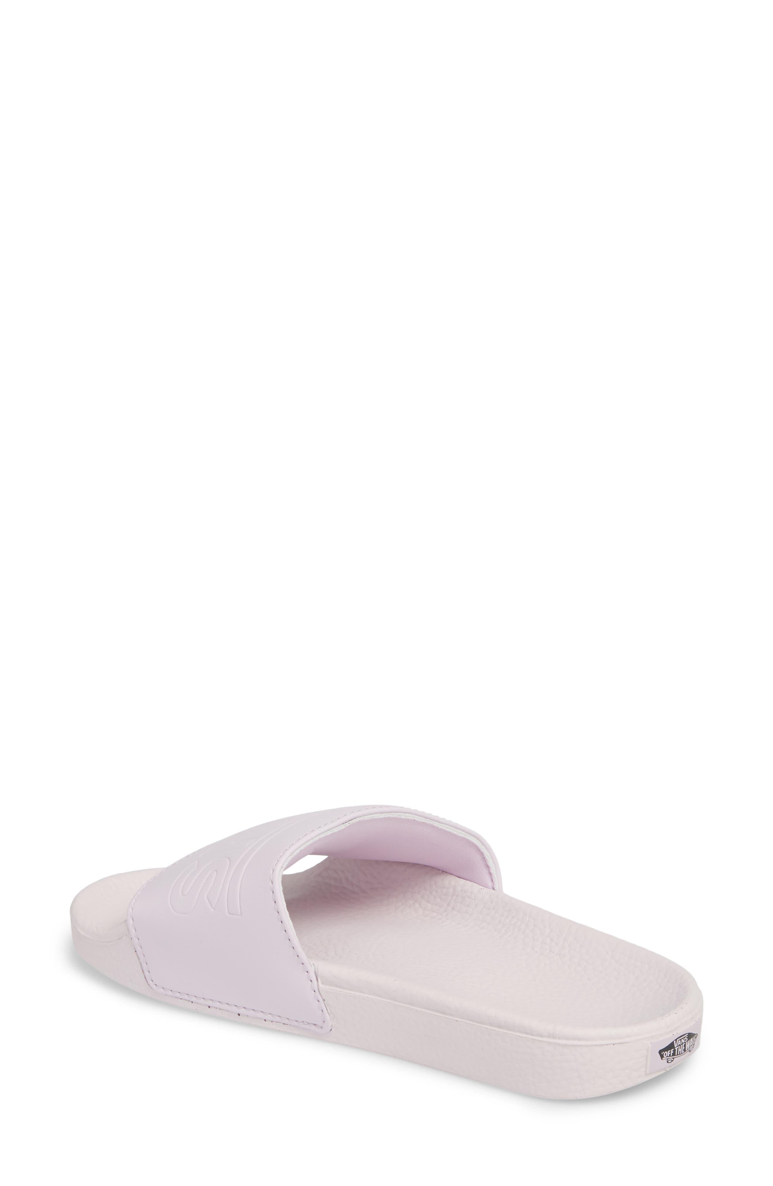 Slide-On Sandal,                             Alternate thumbnail 2, color,                             Lavender Fog
