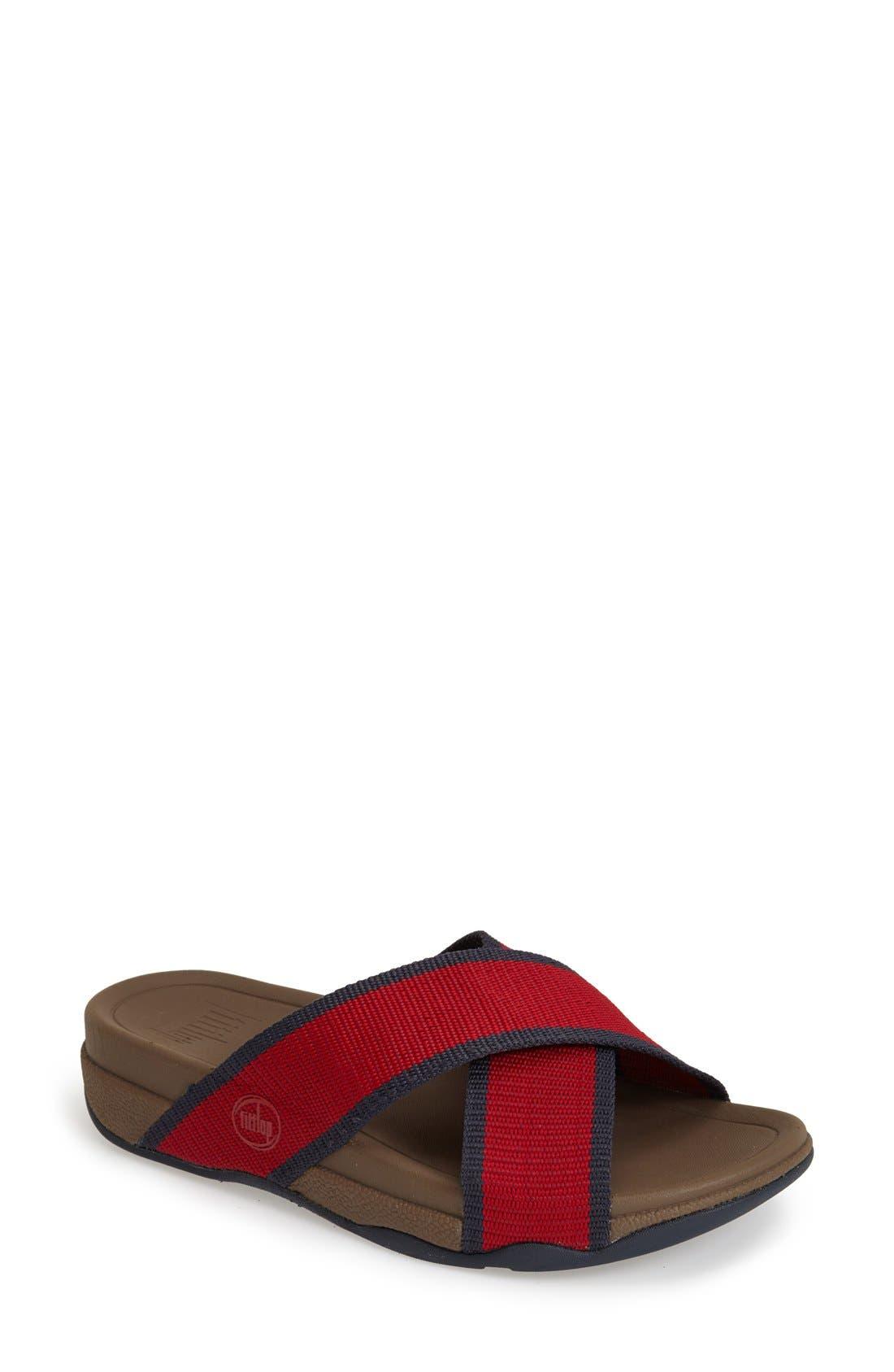 Alternate Image 1 Selected - FitFlop™ 'Surfer' Slide Sandal (Men)