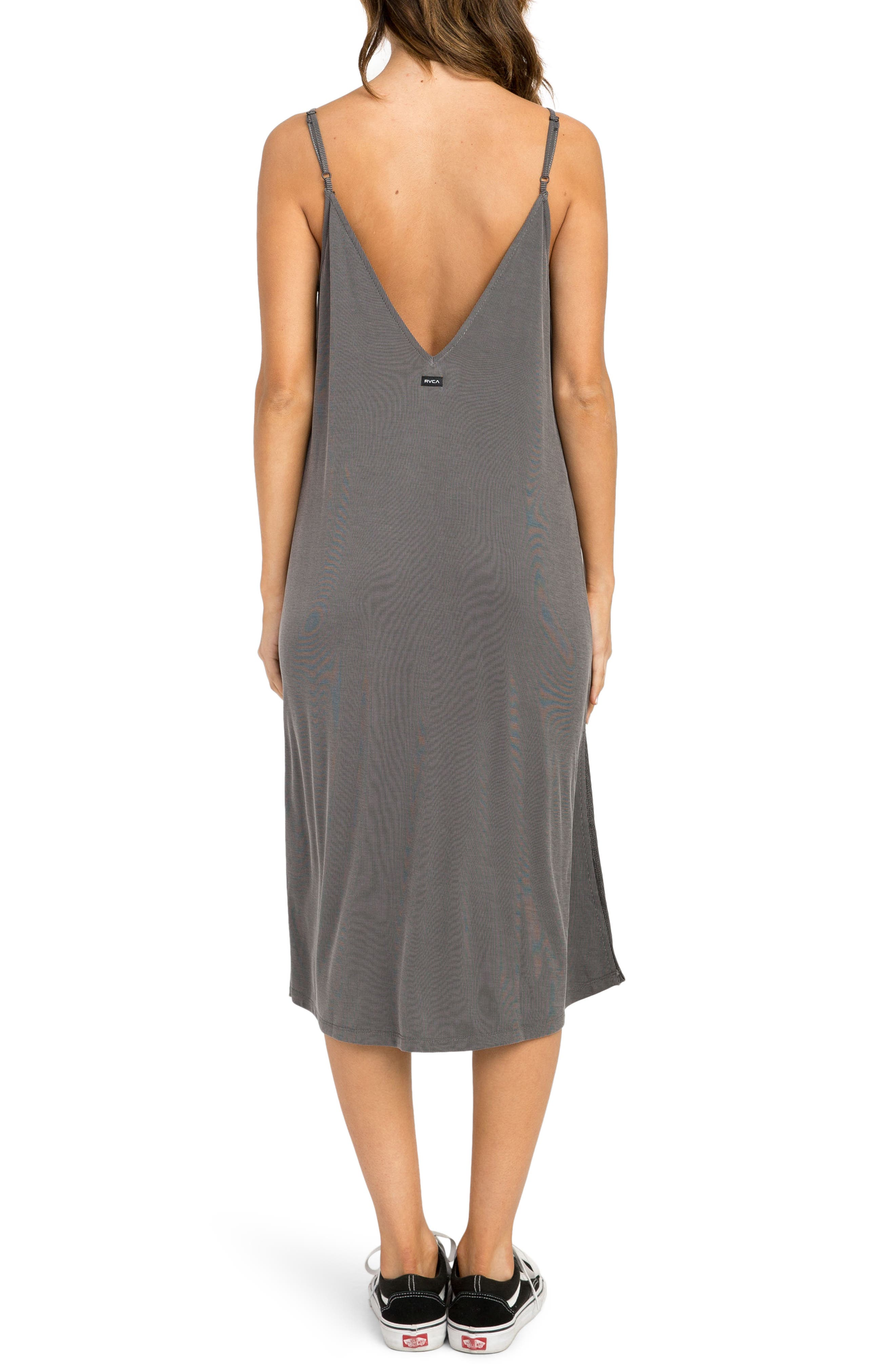 Jones Midi Dress,                             Alternate thumbnail 2, color,                             Grey