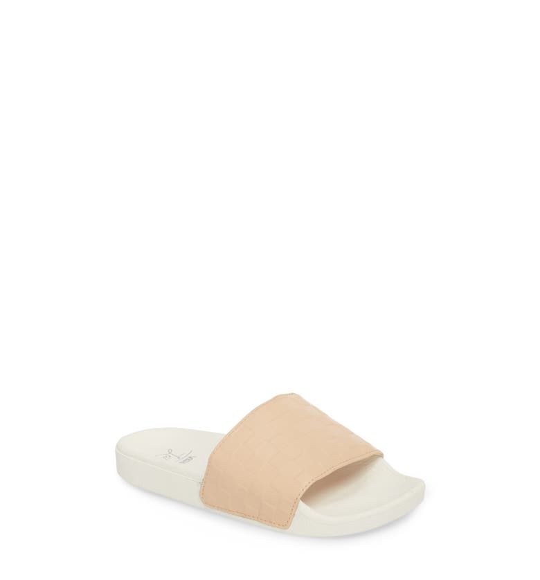 304642ac8395 Vans X Leila Hurst Slide Sandal In White  Amber Light