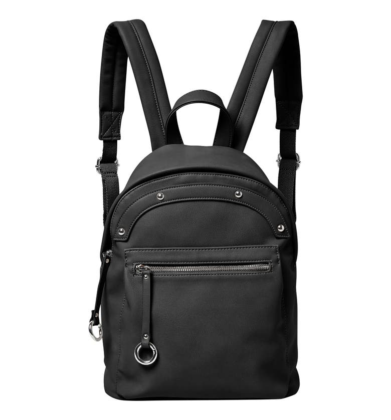 Urban Originals VEGAN LEATHER SUNNY DAY BACKPACK - BLACK