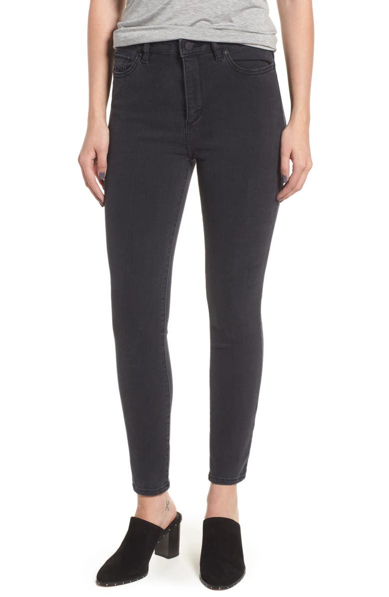 Chrissy Trimtone Ultra High Waist Skinny Jeans
