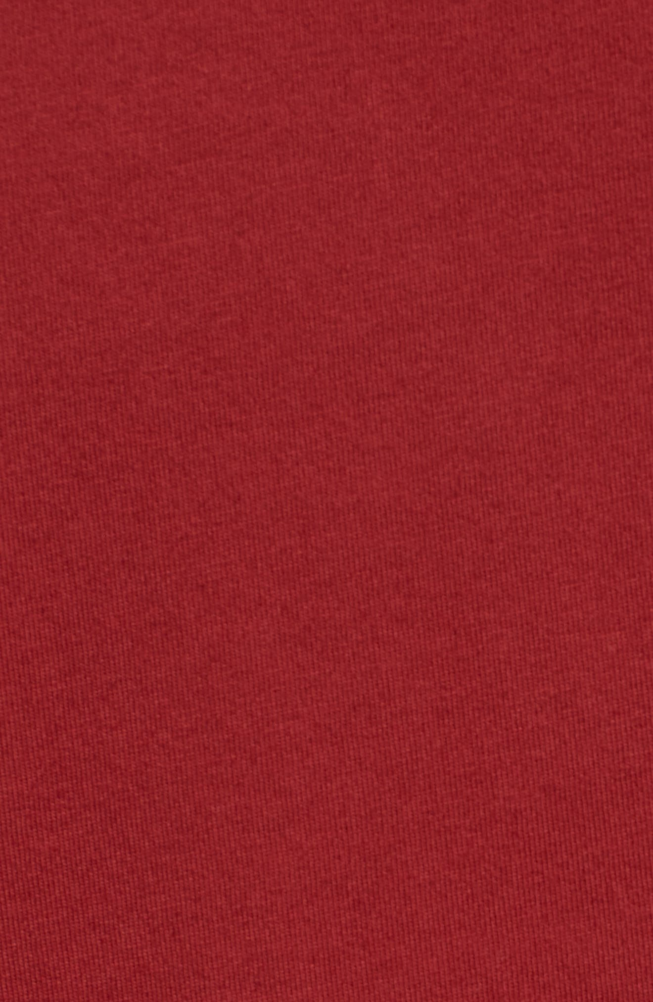 Anchor Graphic T-Shirt,                             Alternate thumbnail 3, color,                             Biking Red