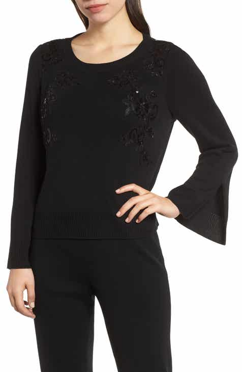 Mink Wang Sequin Sweater by Ming Wang