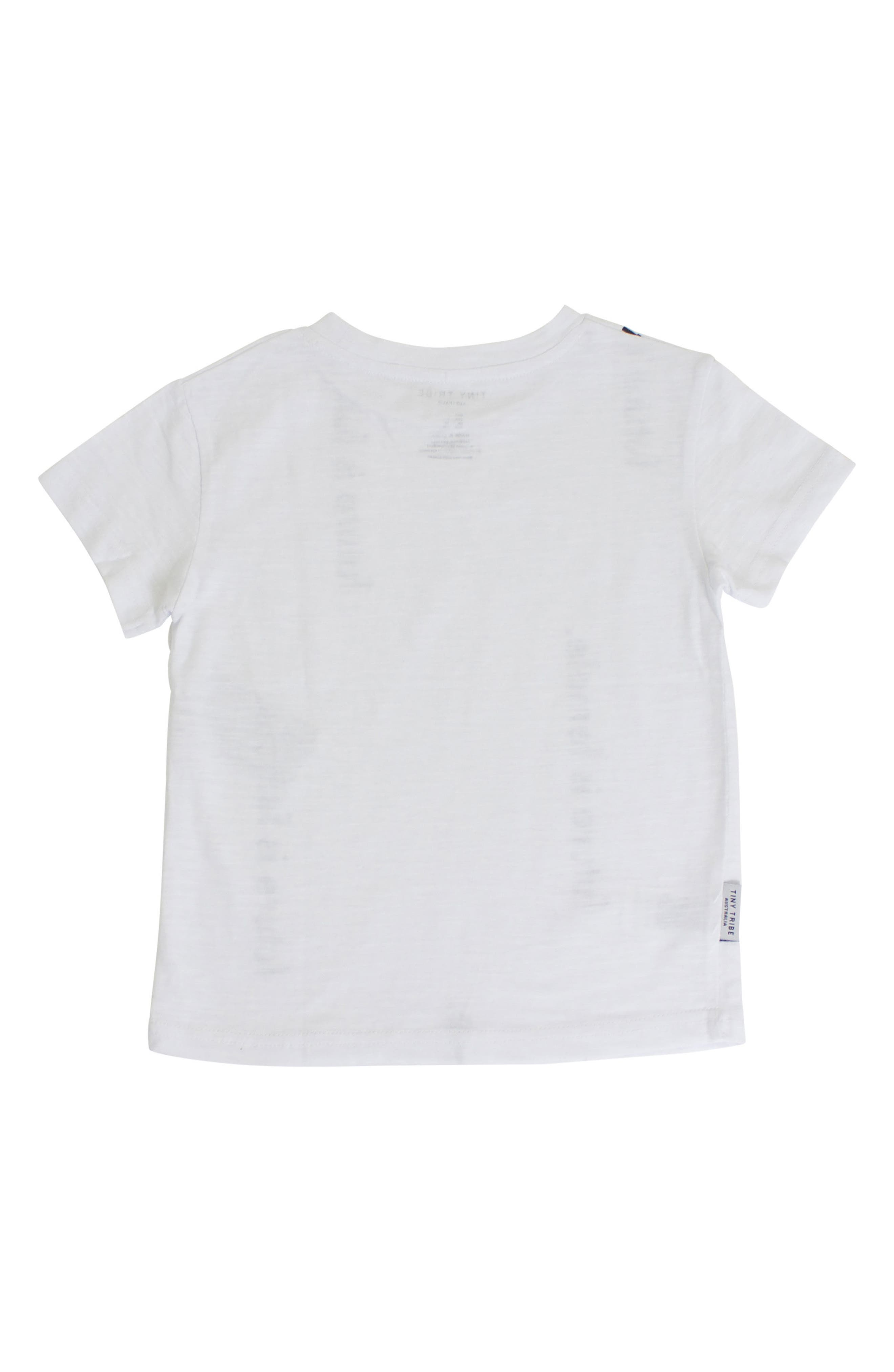 Future is Female Graphic Tee,                             Alternate thumbnail 2, color,                             White