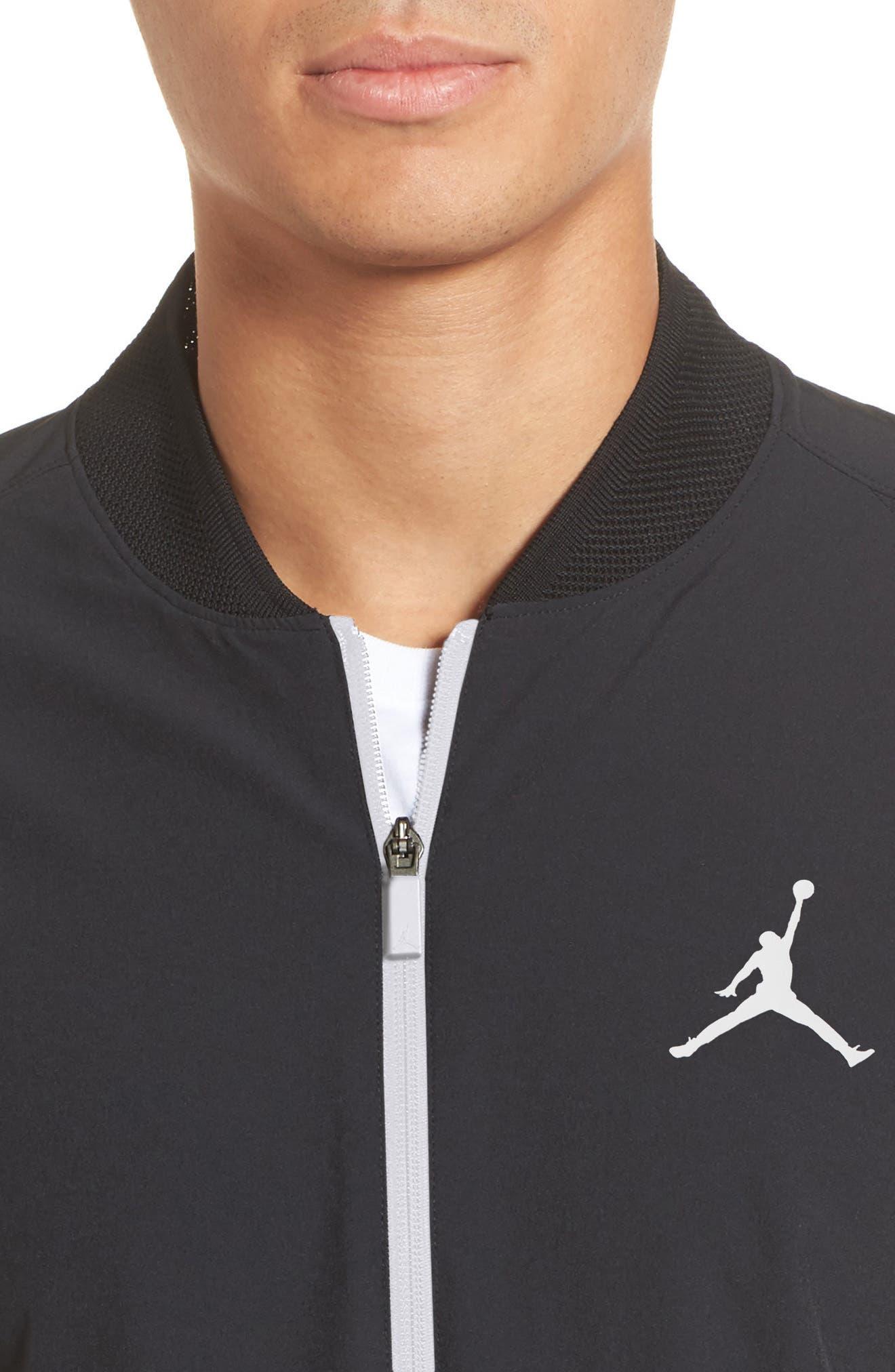 23 Alpha Dry Jacket,                             Alternate thumbnail 3, color,                             Black/ White