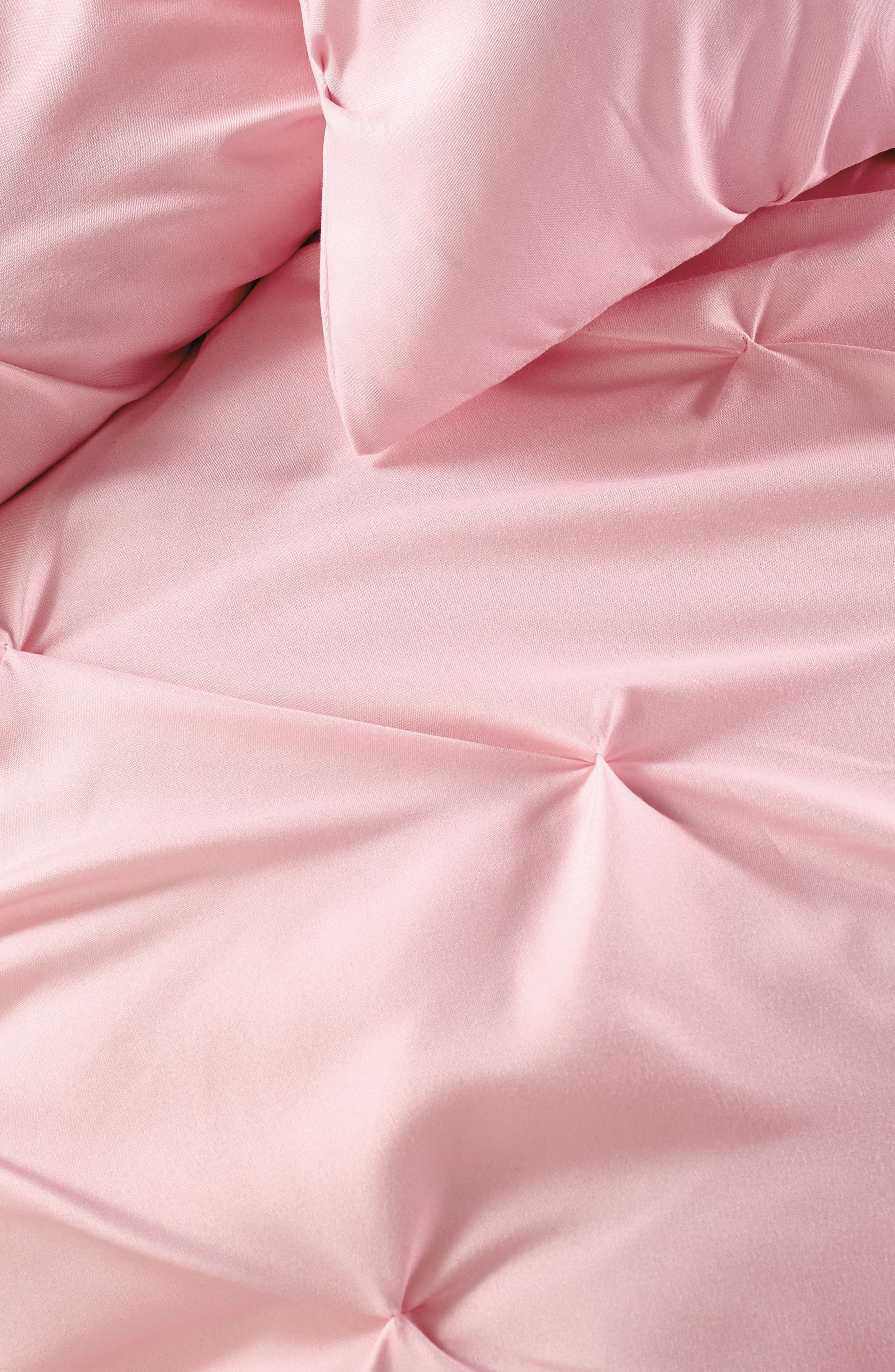 Duvet & Sham Set,                             Alternate thumbnail 2, color,                             Pink