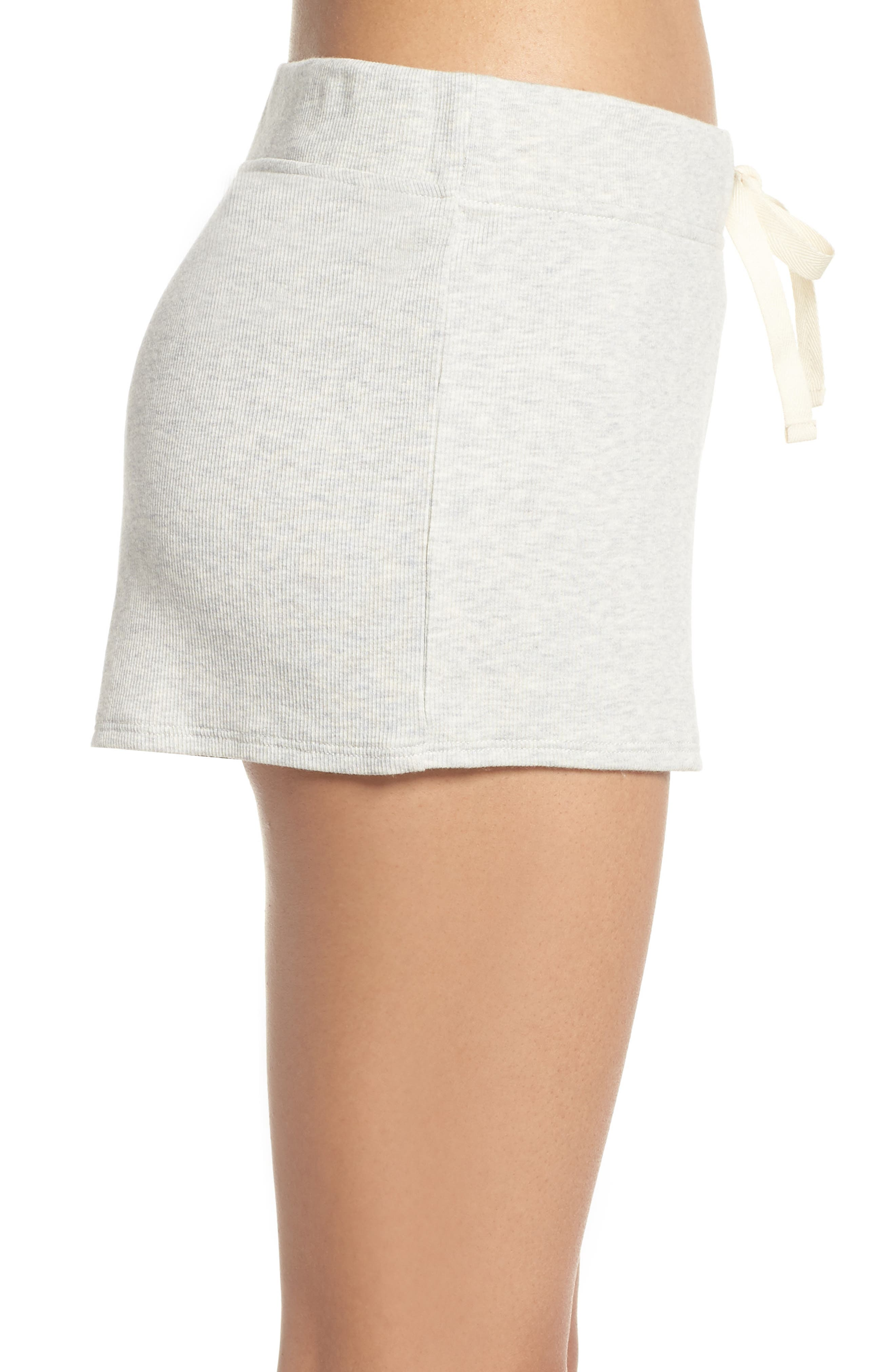 Daydream Lounge Shorts,                             Alternate thumbnail 5, color,                             Grey Heather