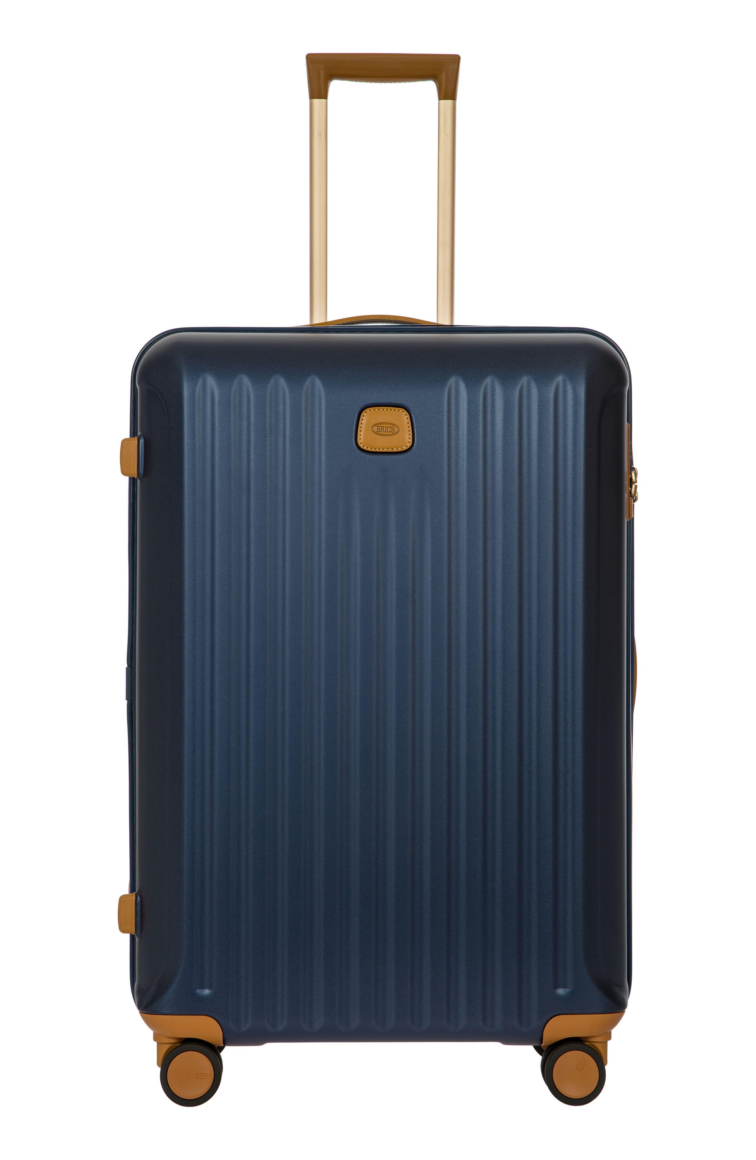 Capri 32-Inch Spinner Suitcase - Blue in Matte Blue