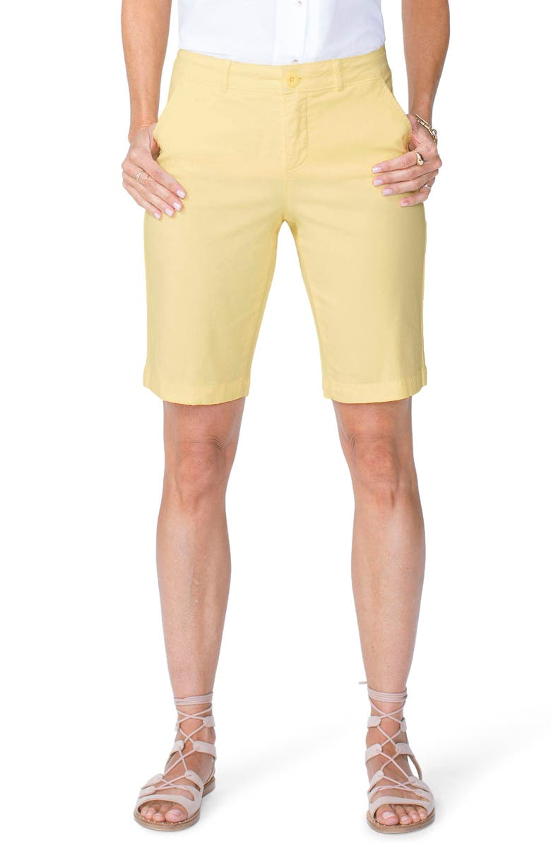 Stretch Twill Bermuda Shorts